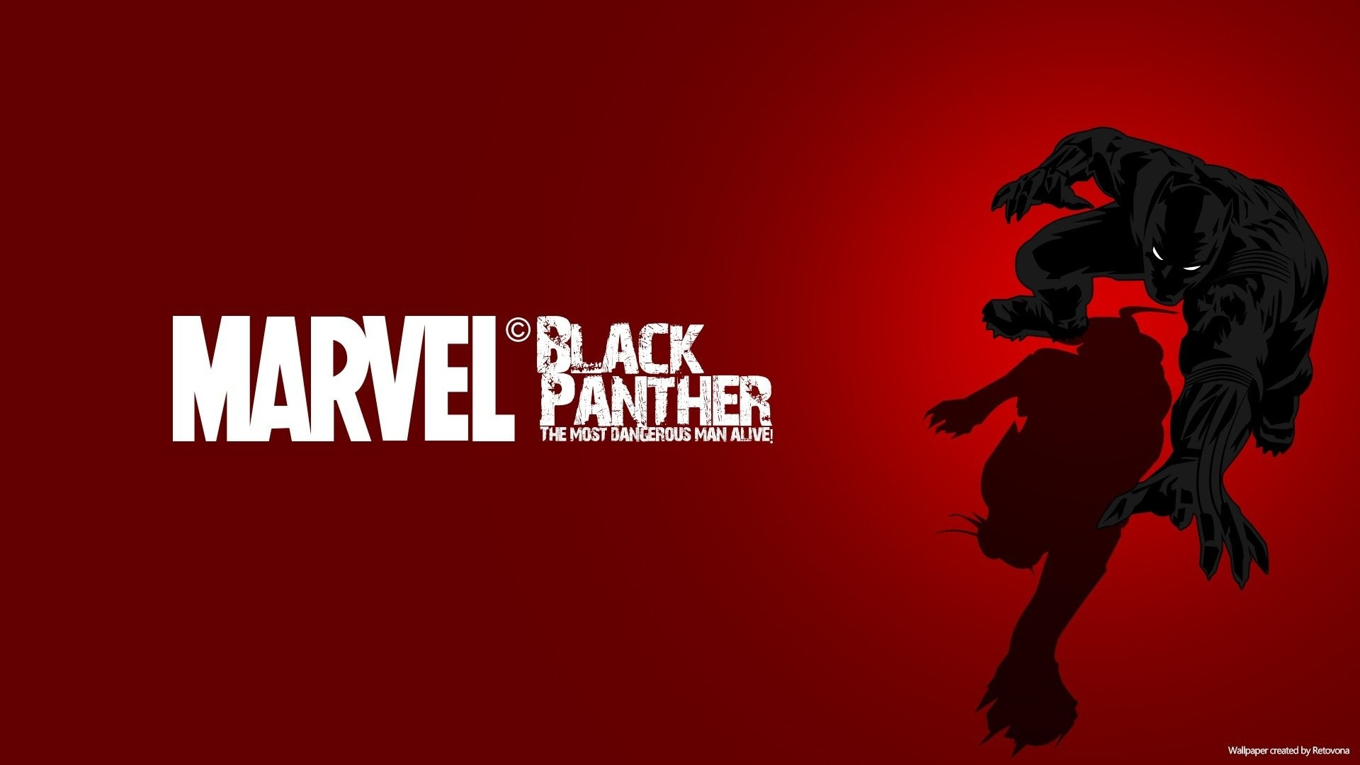 Black Panther Comic Wallpaper