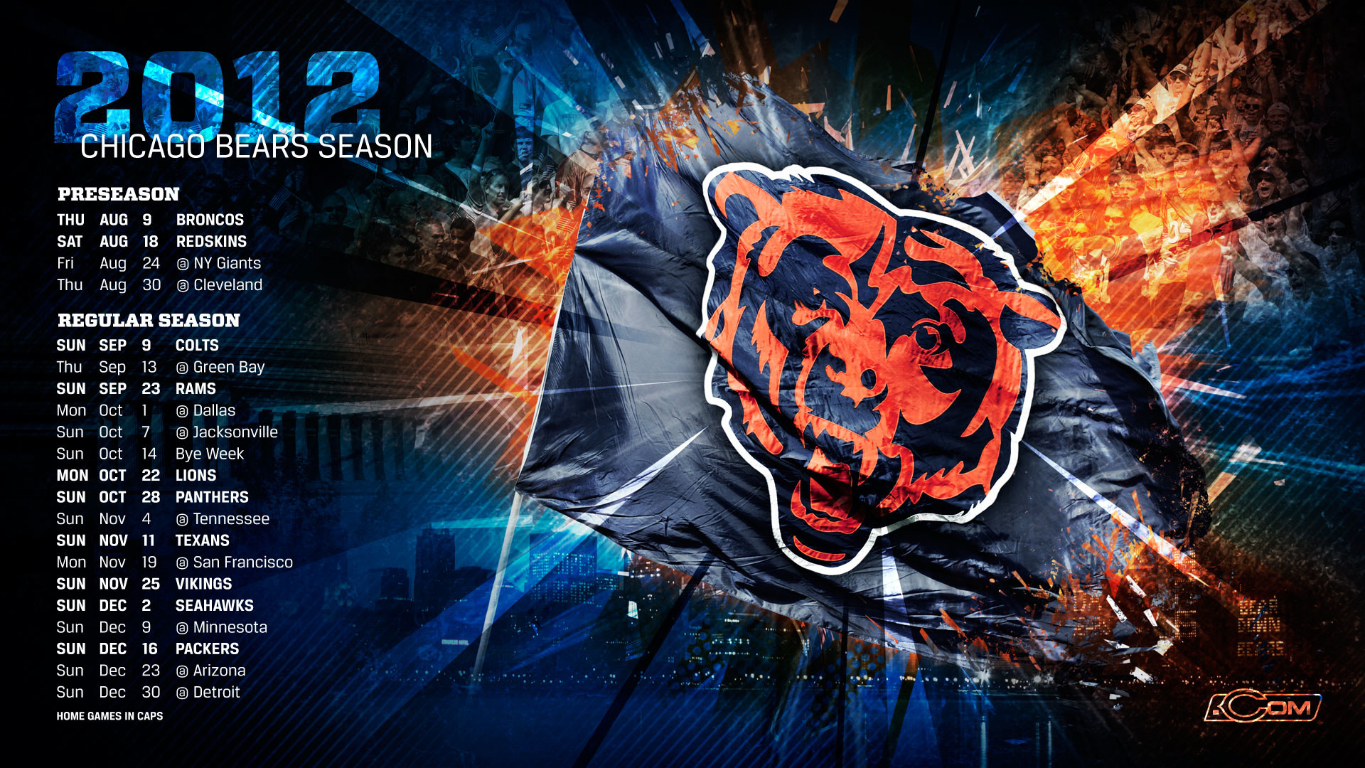 Chicago bears 2018 wallpapers 57 images - Pc wallpaper 2018 ...