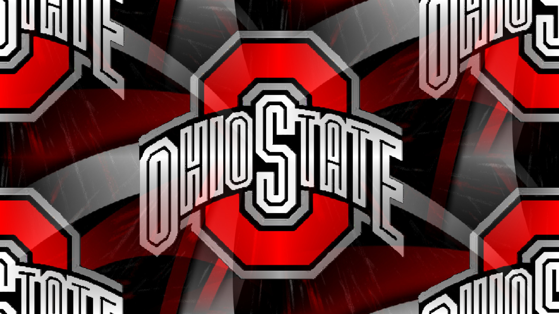 1920x1080 Ohio State Buckeyes images RED BLOCK O WHITE OHIO STATE ON AN ABSTRACT HD  wallpaper and background photos
