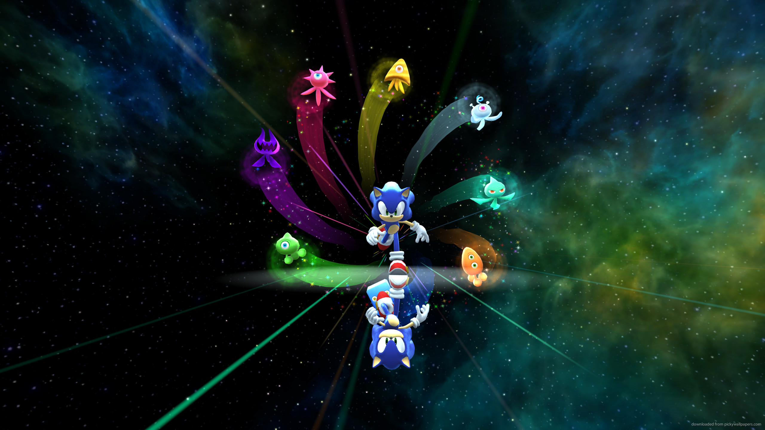 2560x1440 Sonic Colors Supersonic for