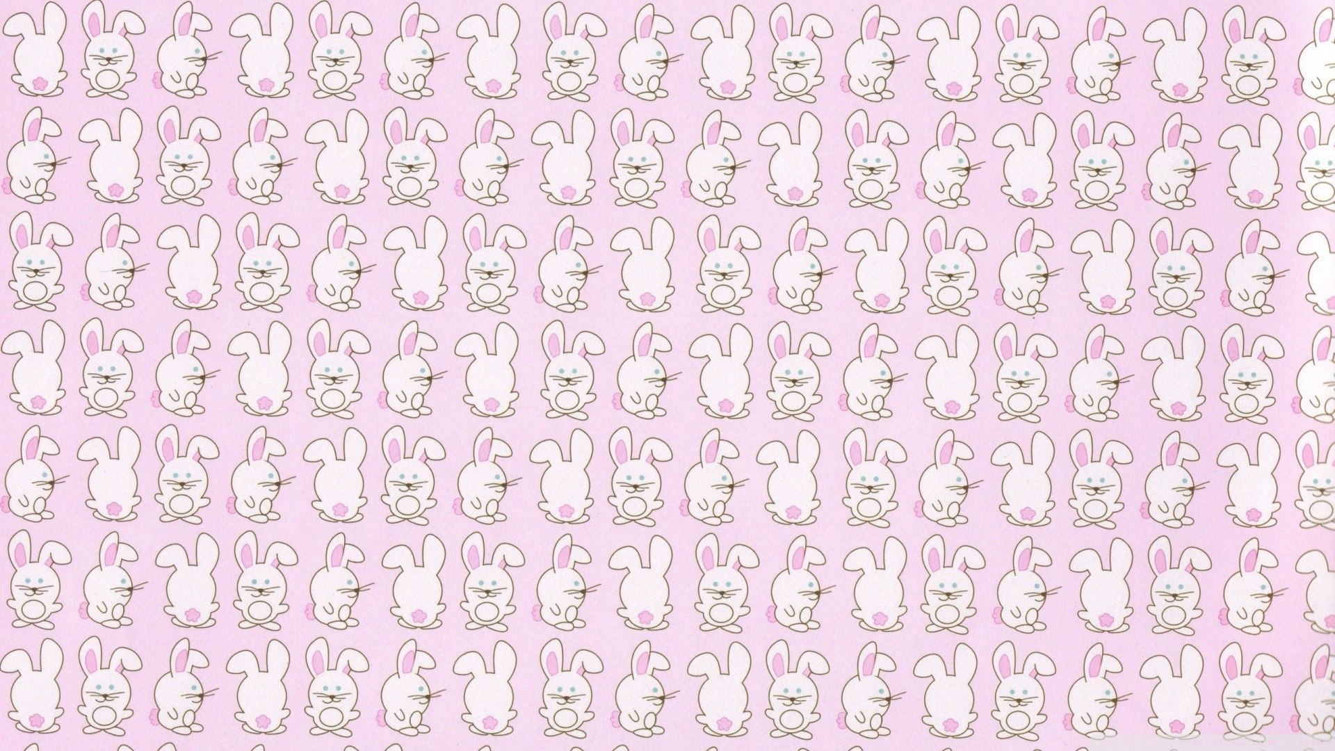 1920x1080 Cute Wallpapers Wallpaper Pattern Bunny Patterns Images