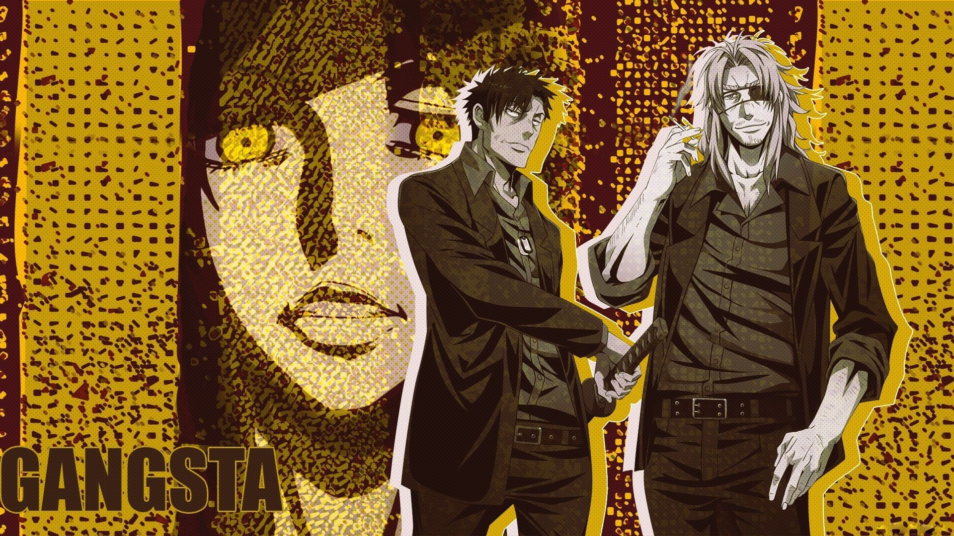 Gangsta anime wallpaper 77 images 1920x1080 anime series gangsta characters males wallpaper 1920x1080 826798 voltagebd Gallery