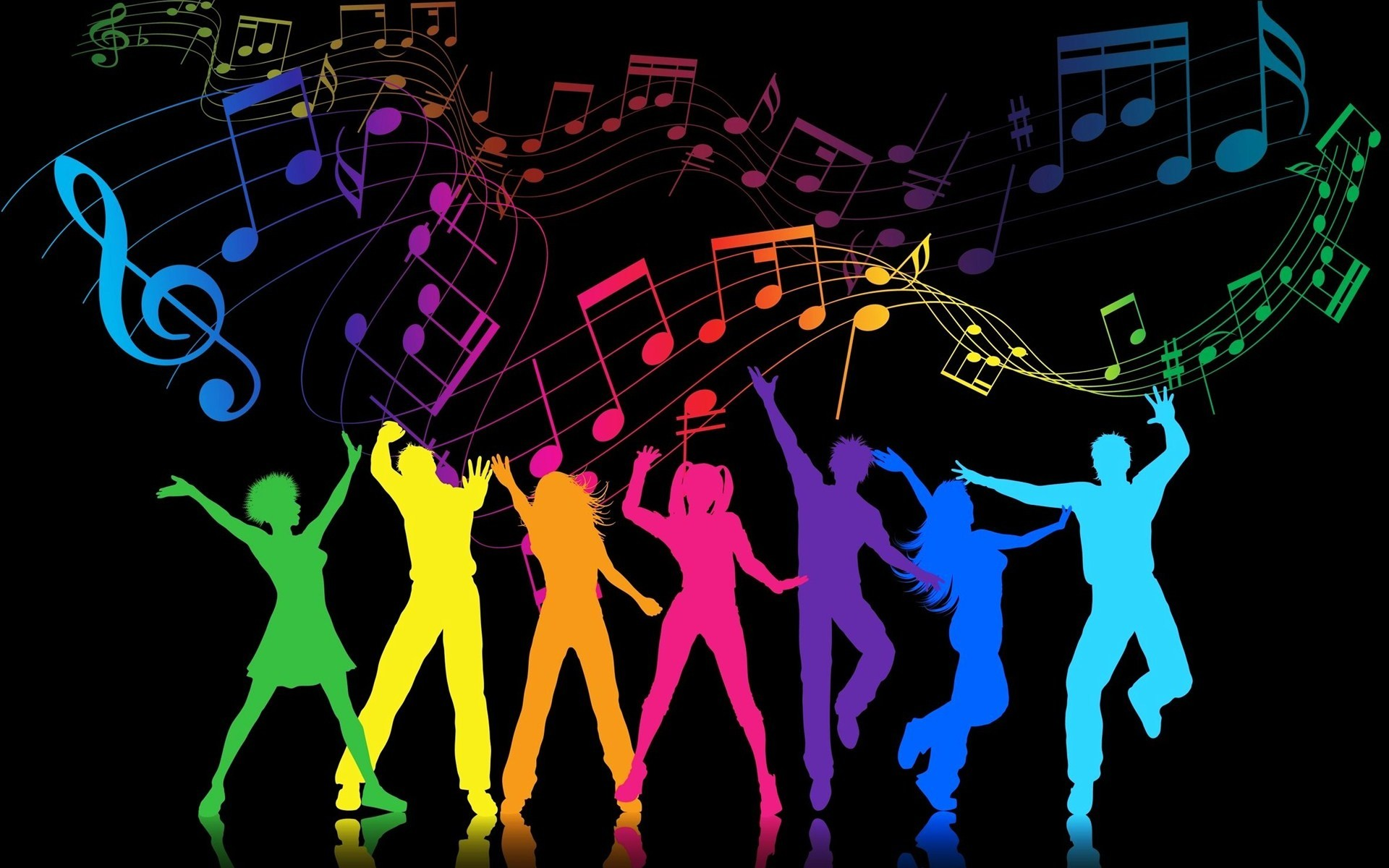 1920x1200 View Colorful Party People Party People Wallpaper