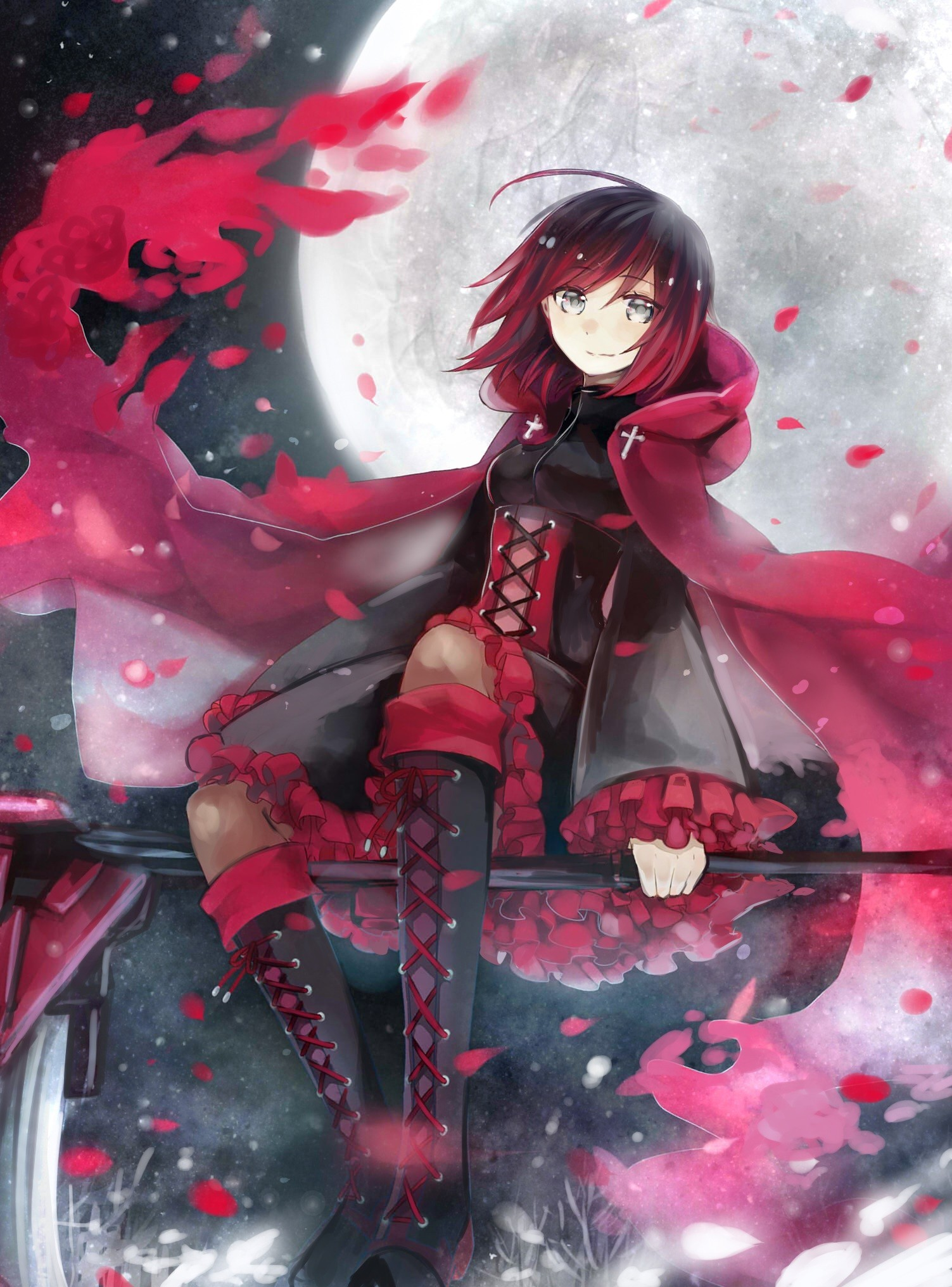 Rwby ruby wallpaper 61 images - Boy with rose wallpaper ...