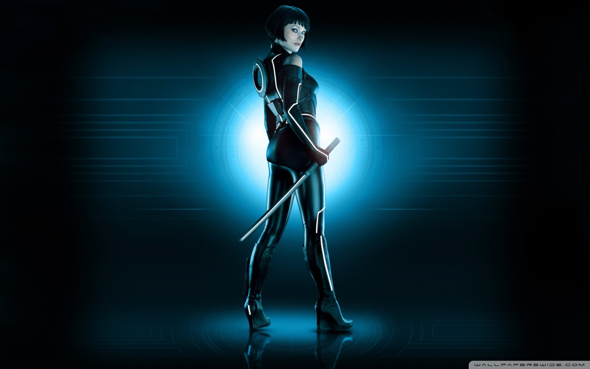 1920x1200 Olivia Wilde Tron Legacy HD Wide Wallpaper for Widescreen