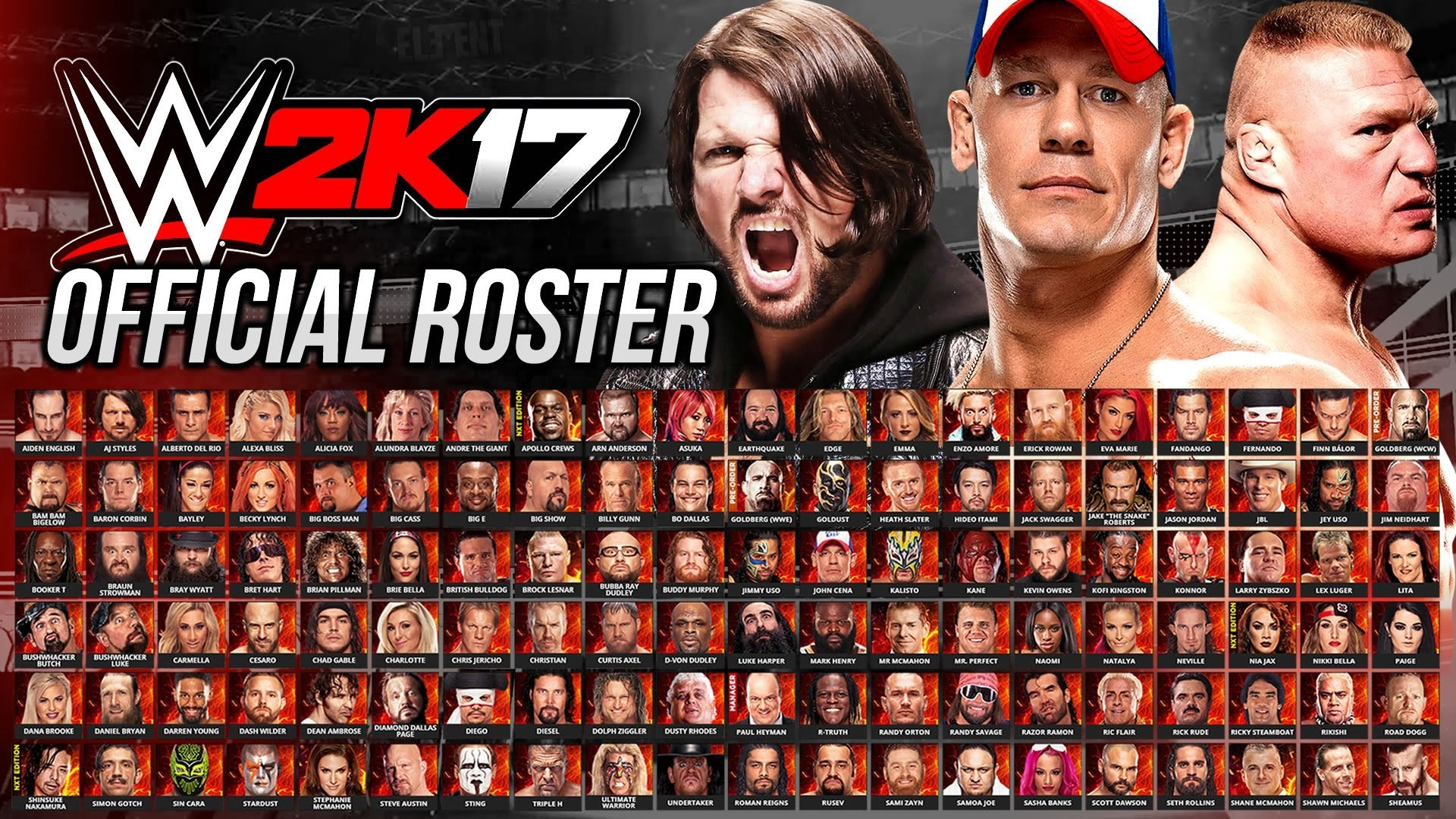 1920x1080 WWE 2K17 wallpapers best HD