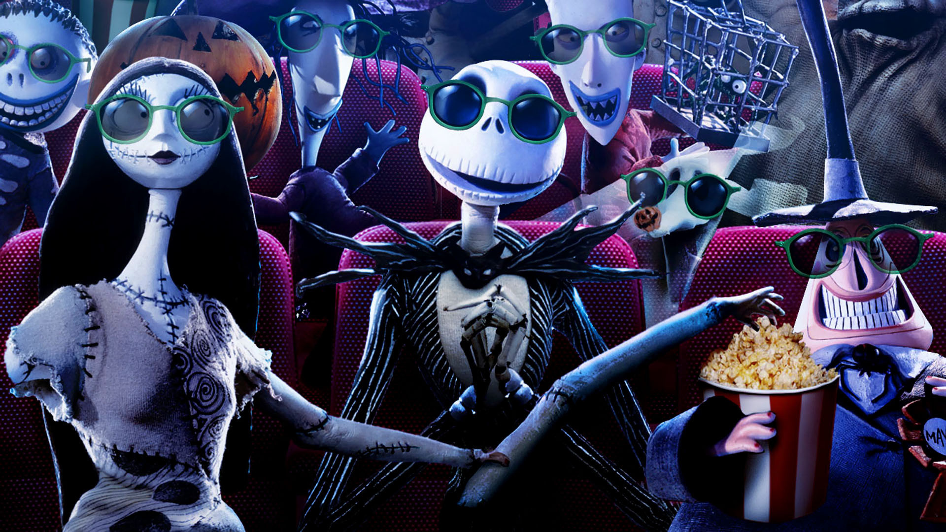1920x1080 The nightmare before christmas original.