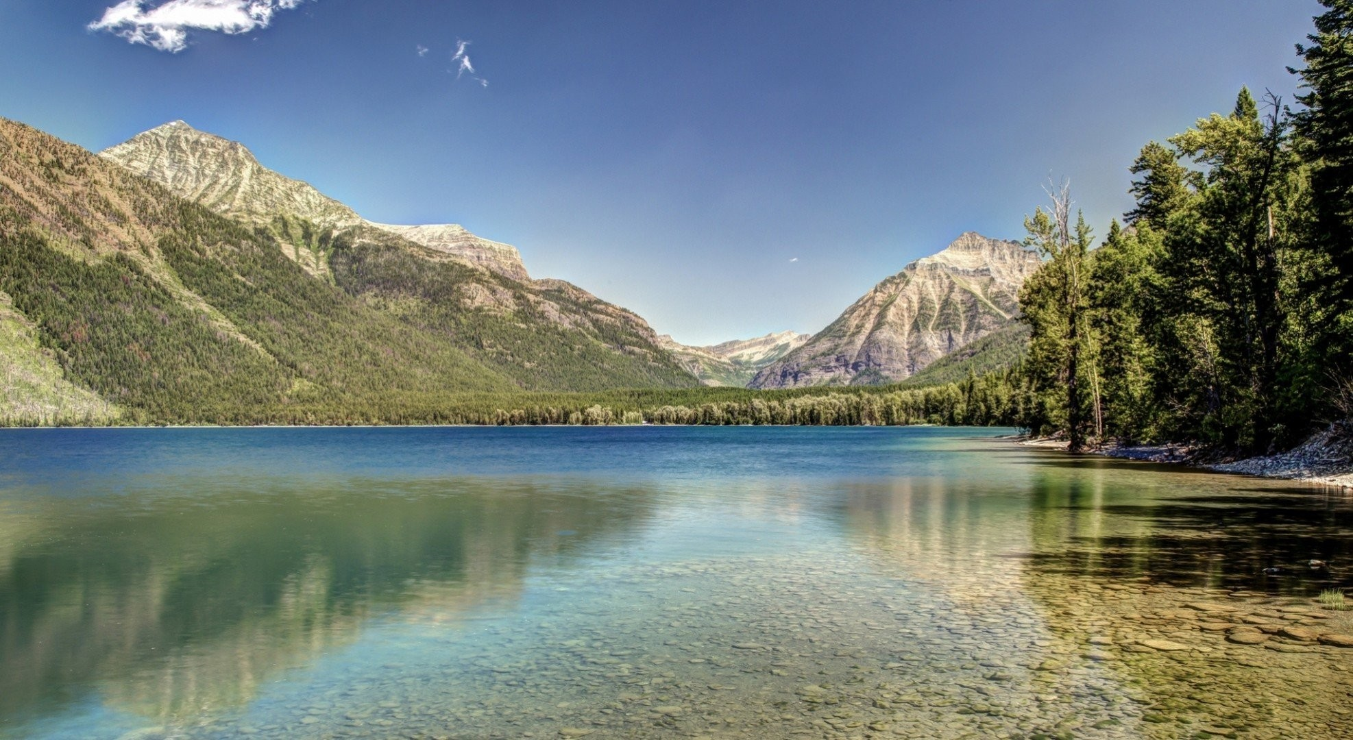 1974x1080 montana from the bottom lake montana forest glacier mountain glacier  national park lake mcdonald