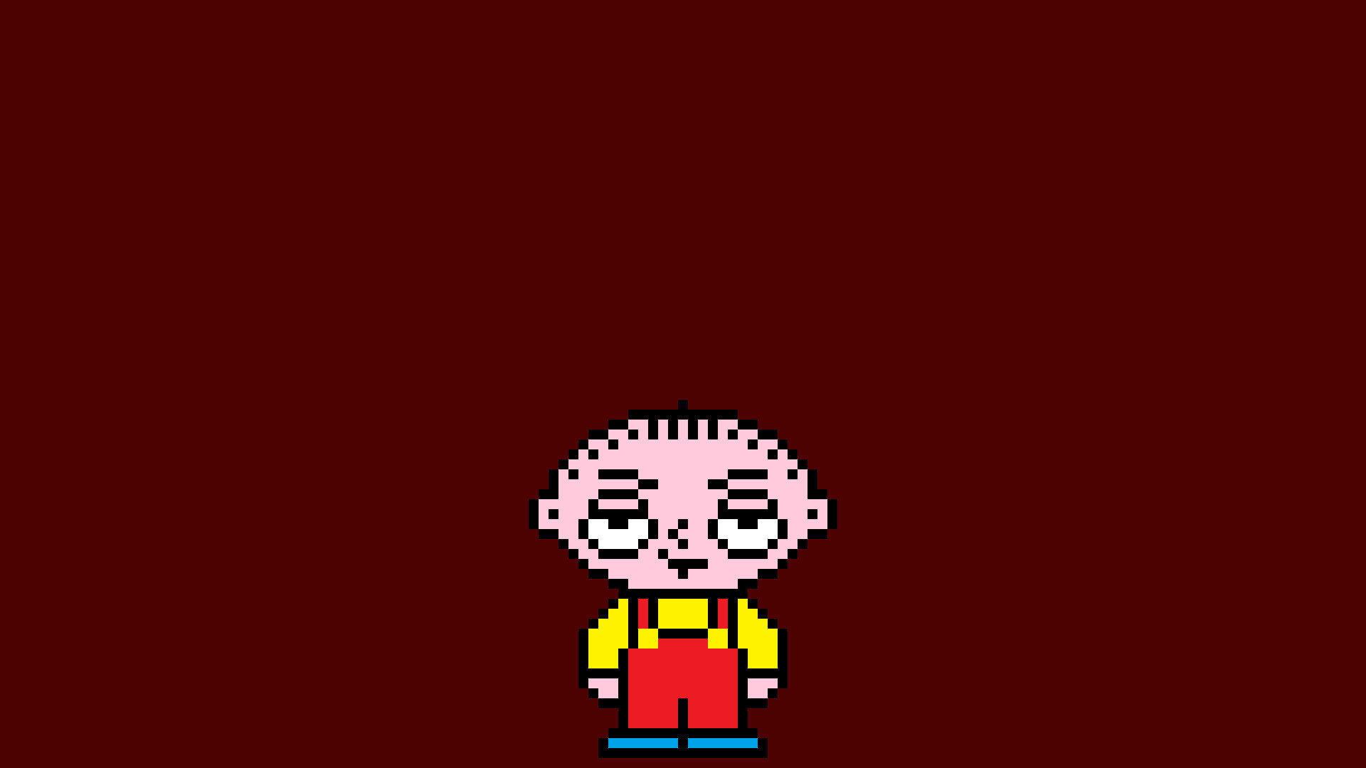 1920x1080 Stewie Griffin, Pixel art, Pixels, The family guy Wallpapers HD / Desktop  and Mobile Backgrounds