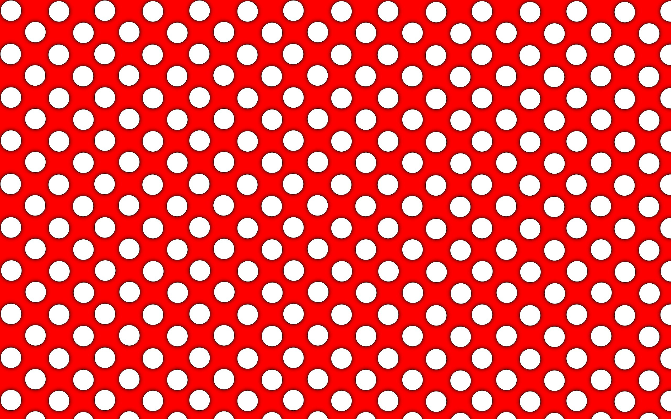 2560x1600 Hd Wallpaper Polka Dot Card Stock: Wallpapers for Gt Red Polka Dots .