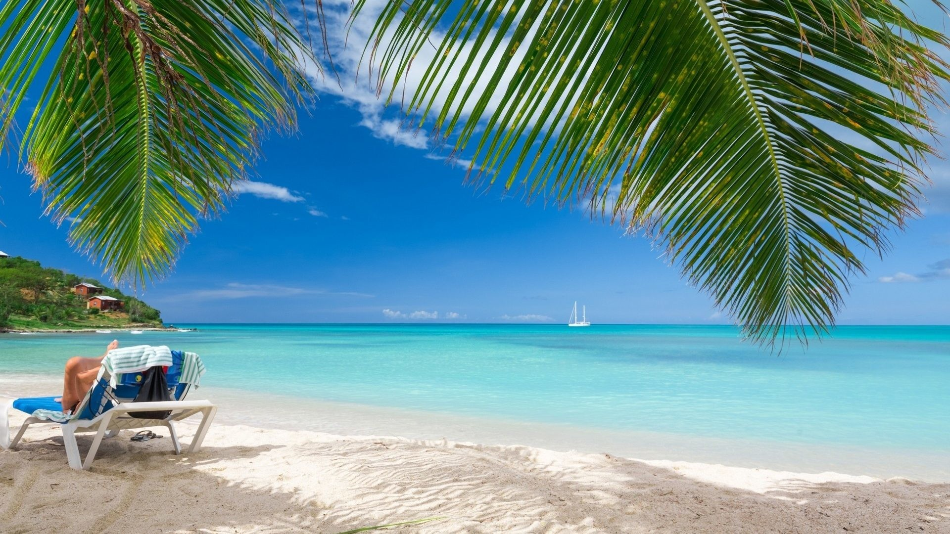 Caribbean beach pictures wallpaper 70 images for Beach wallpaper 1920x1080