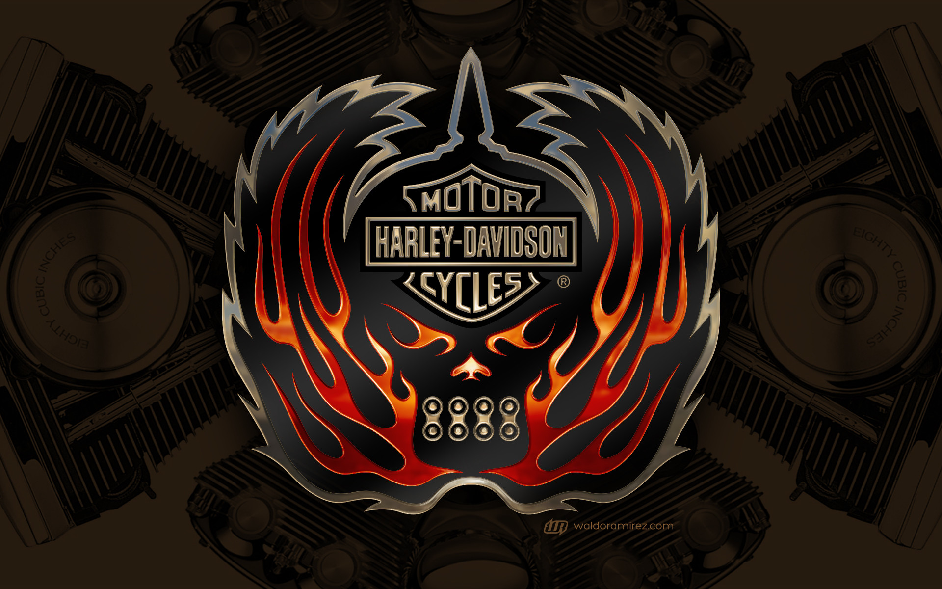 1920x1200 Here are some screensavers for any Harley Davidson fans out there