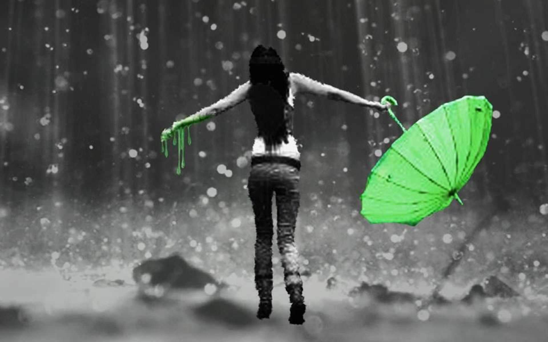 1920x1200 WDB:16 - Girl In Rain Wallpapers, Special Girl In Rain HD Wallpapers .
