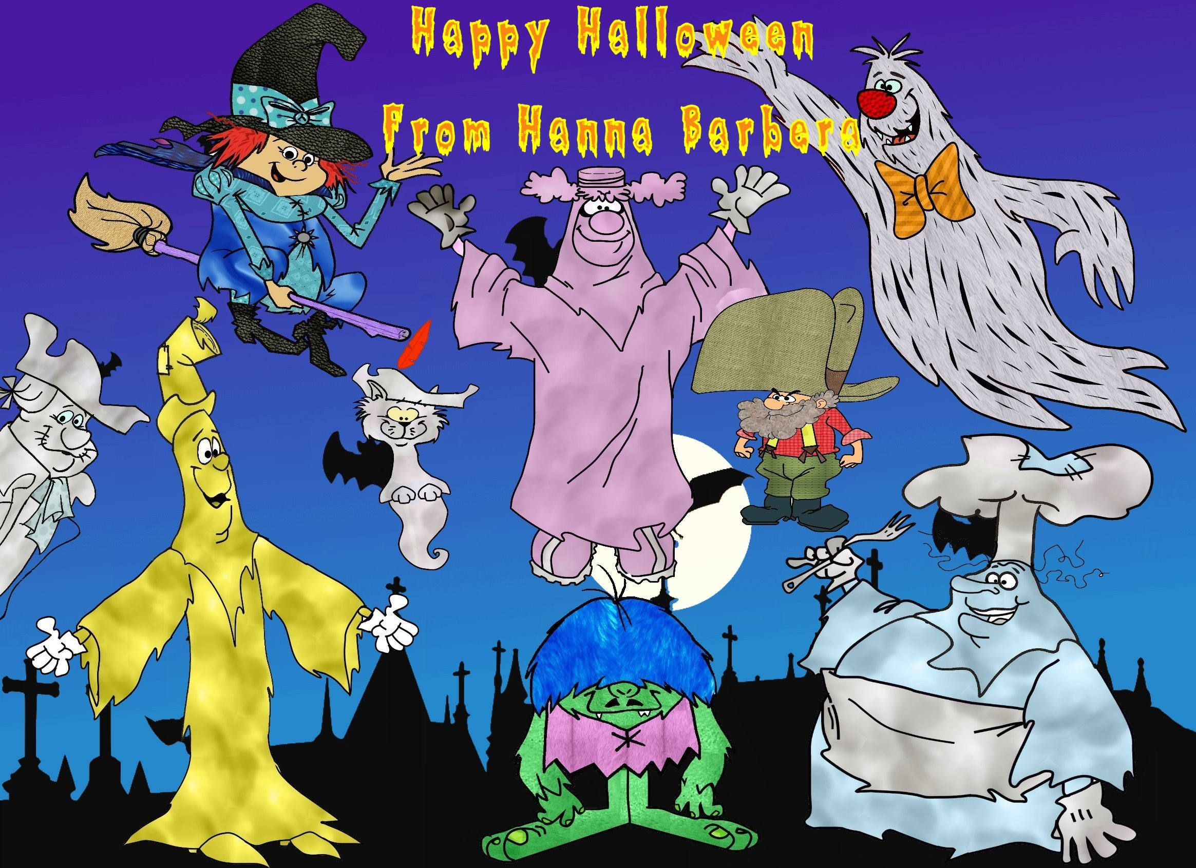 2329x1691 Cartoon - Hanna Barbera Hanna-Barbera Wallpaper