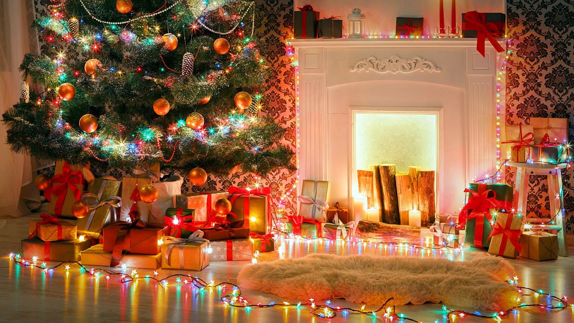 Christmas Fireplace Wallpaper (57+ images)
