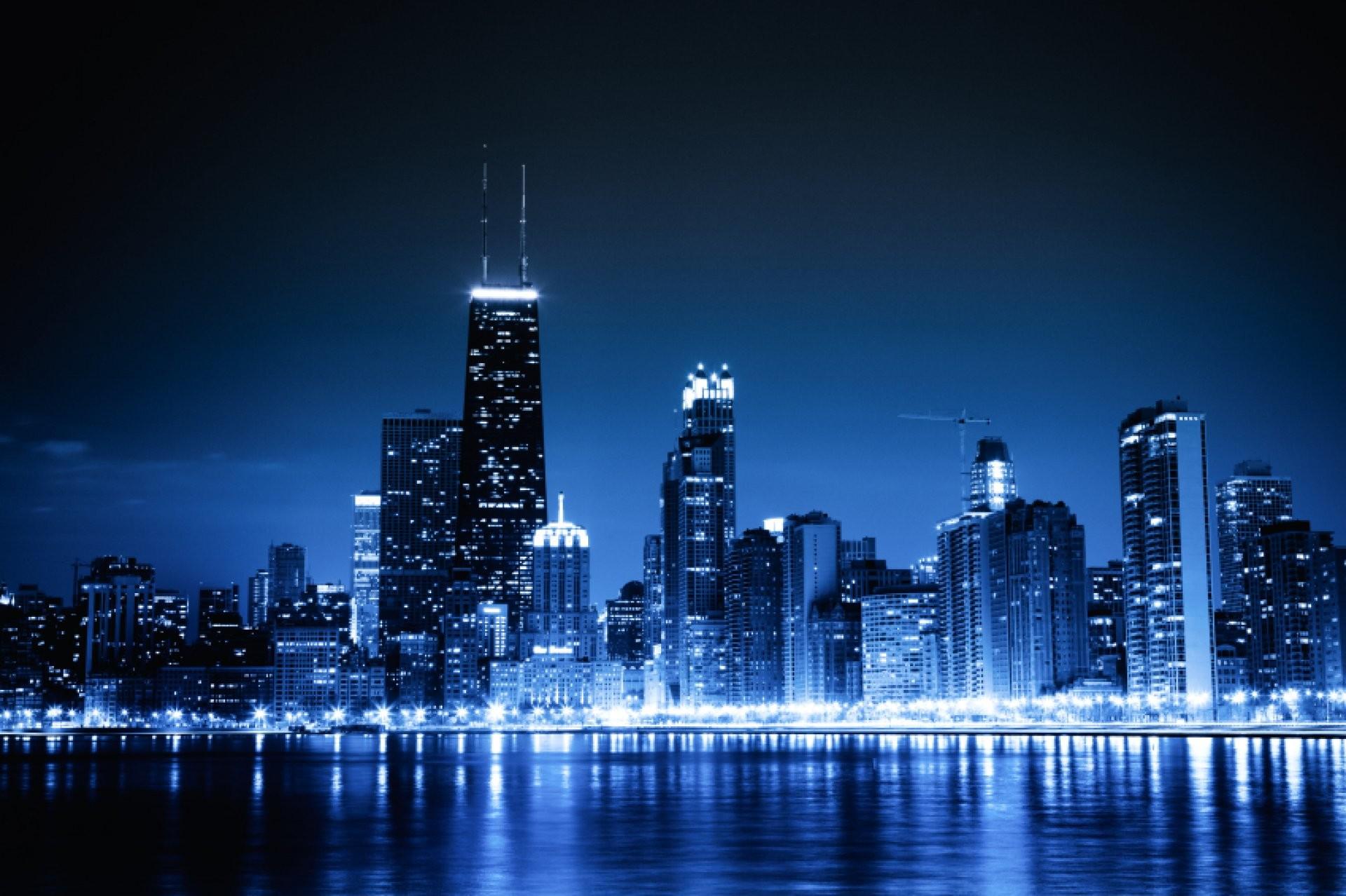 High resolution chicago skyline wallpaper 64 images 1920x1278 chicago blue skyline wallpaper hd wallpaper and download free voltagebd Gallery