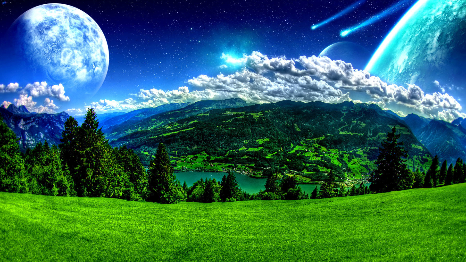 Fantasy Nature Wallpapers 74 Images