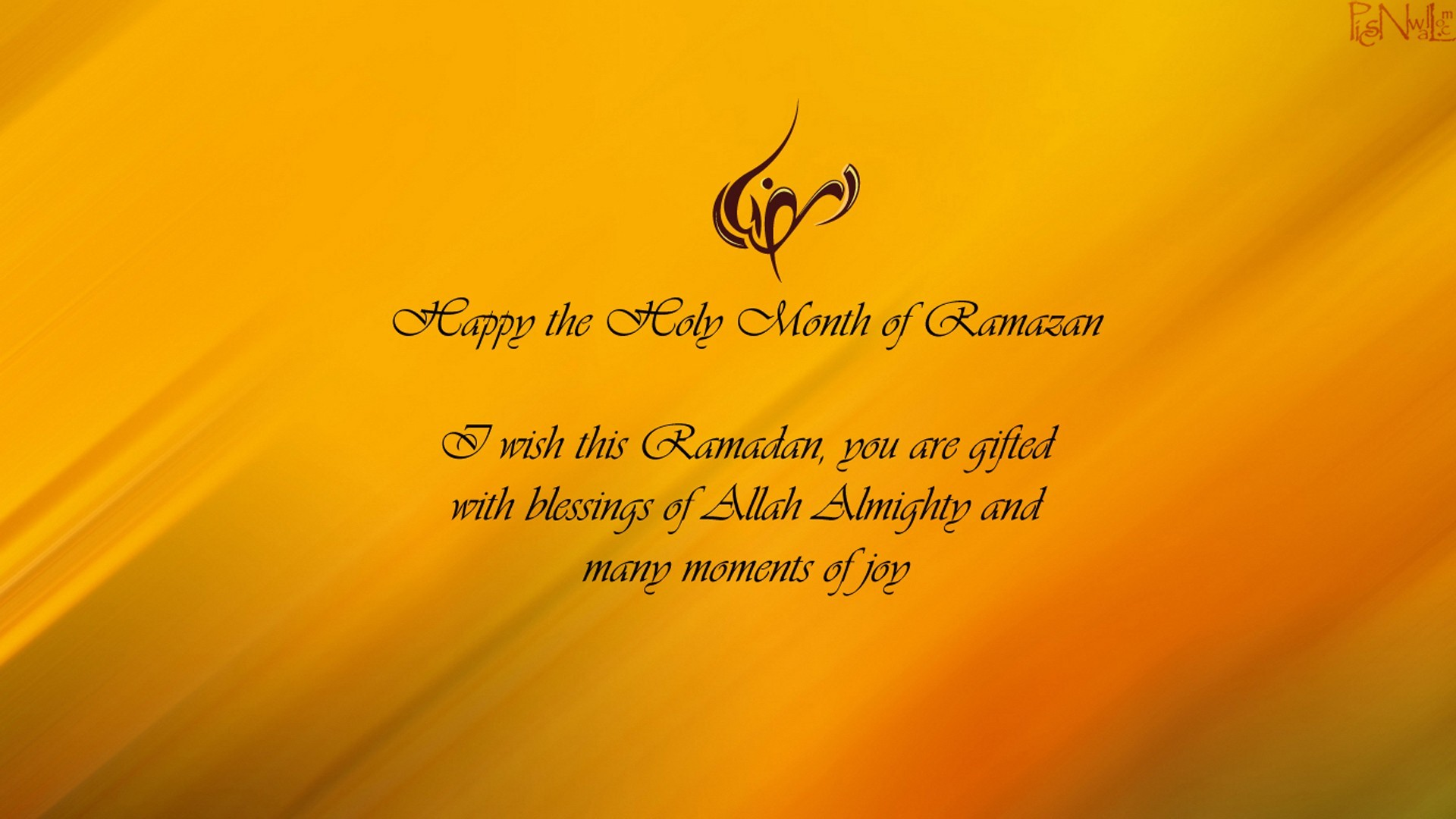 1920x1080 Happy The Holy Month Of Ramazan Wishes Wallpaper