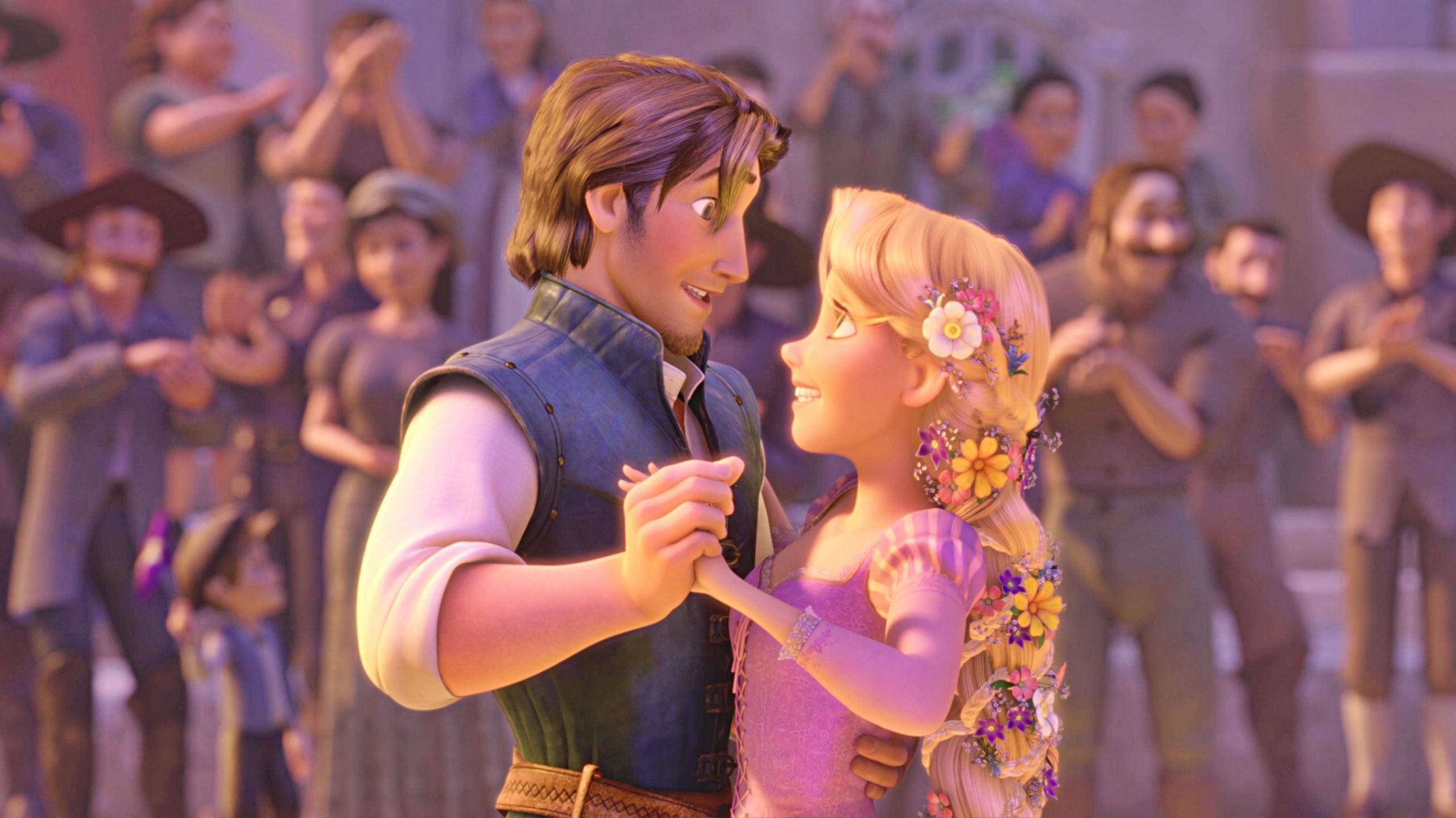 2560x1600 Rapunzel And Flynn HD Wide Wallpaper For Widescreen