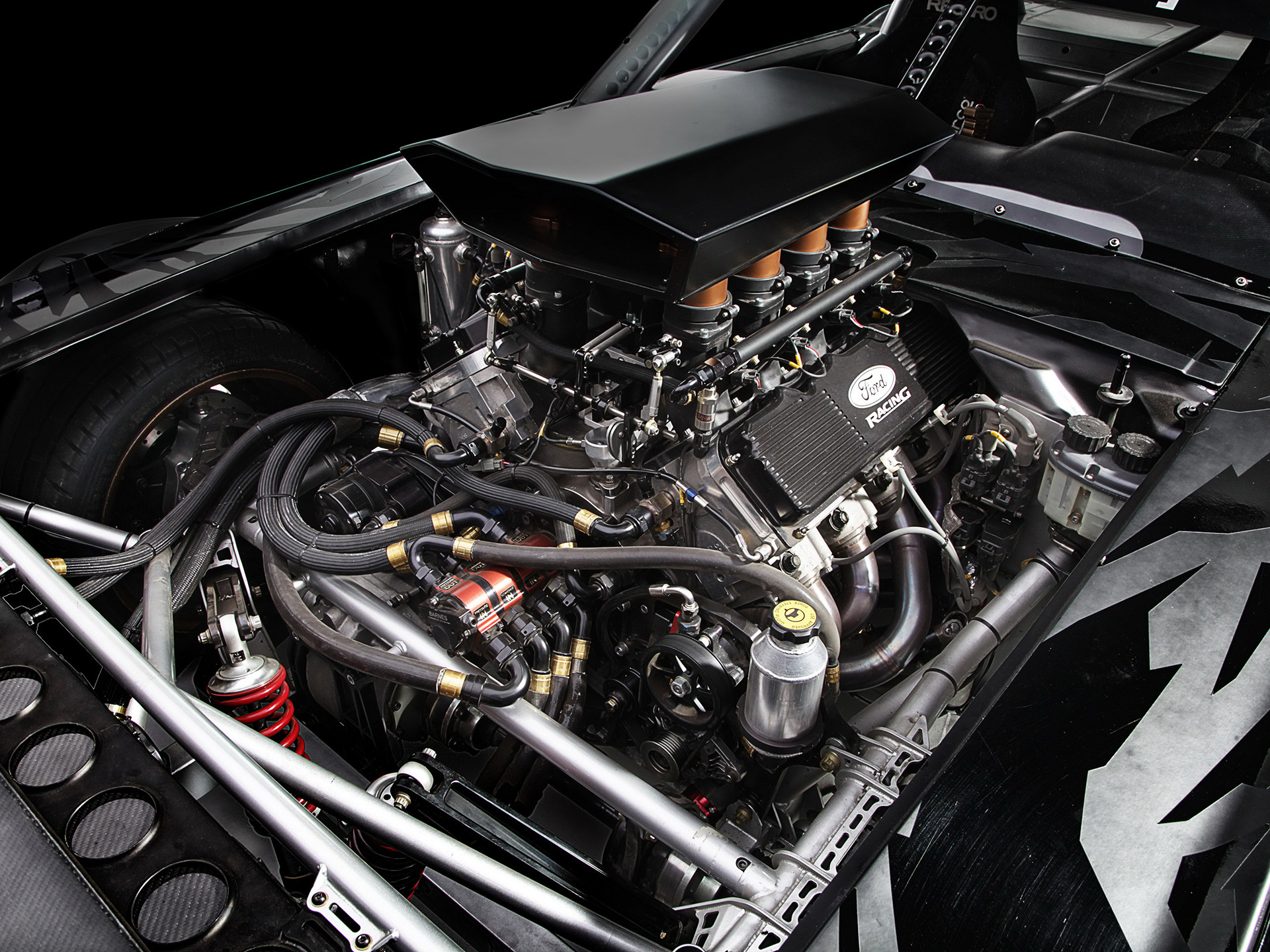 1920x1440 1965 Ford Mustang Hoonicorn RTR - 2015 - moteur / engine