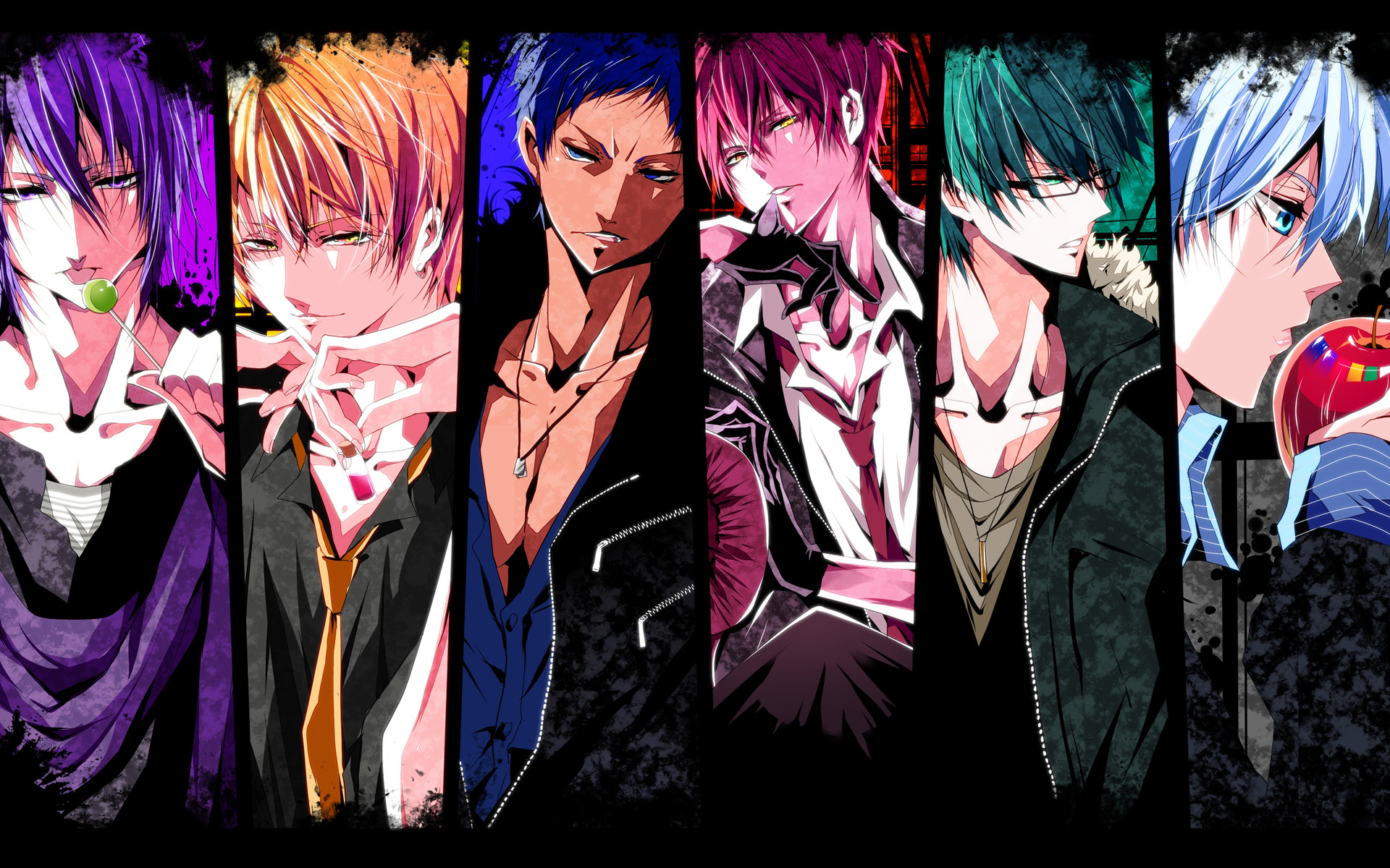 1920x1200 Anime - Kuroko's Basketball Wallpaper