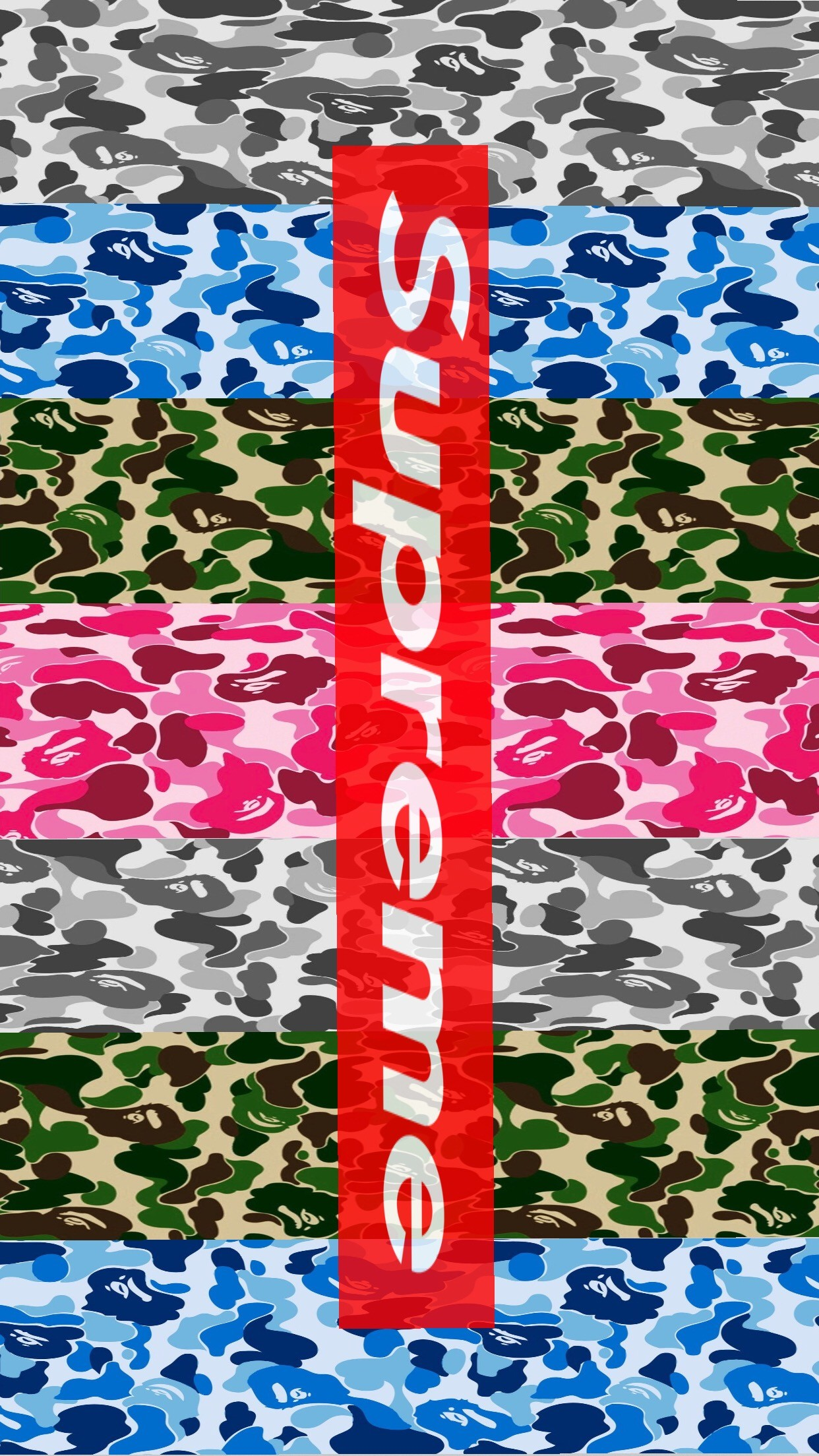 Bape iphone wallpaper 63 images - Hd supreme iphone wallpaper ...
