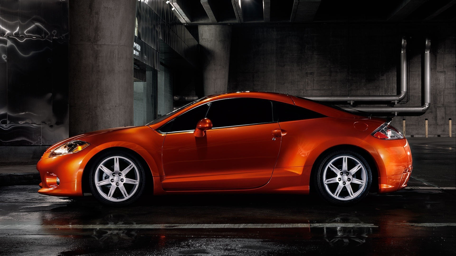 Awesome 1920x1080 Mitsubishi Eclipse Vehicles Wallpaper