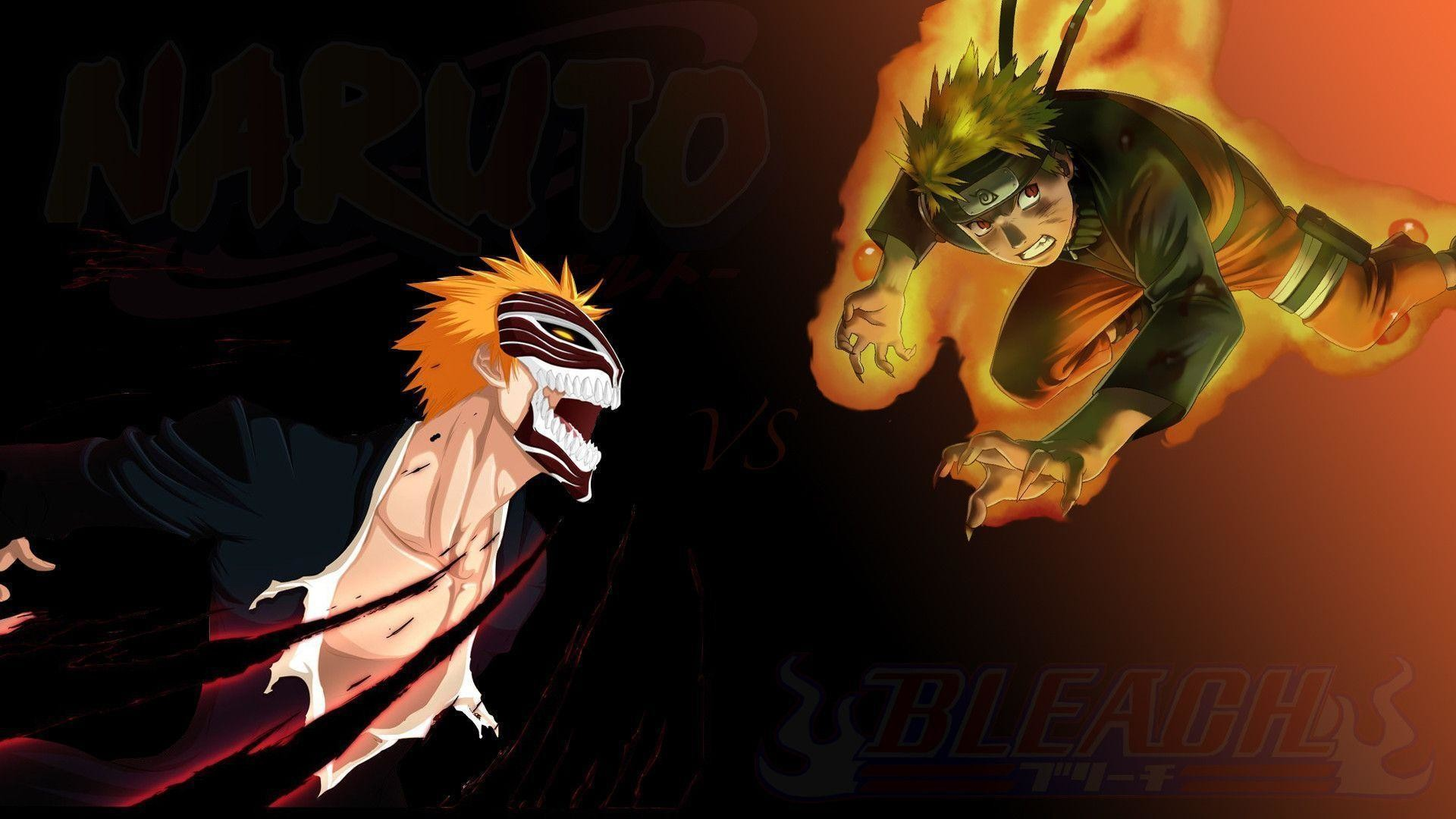 1920x1080 Naruto VS Bleach Wallpaper HD by Finlux on DeviantArt