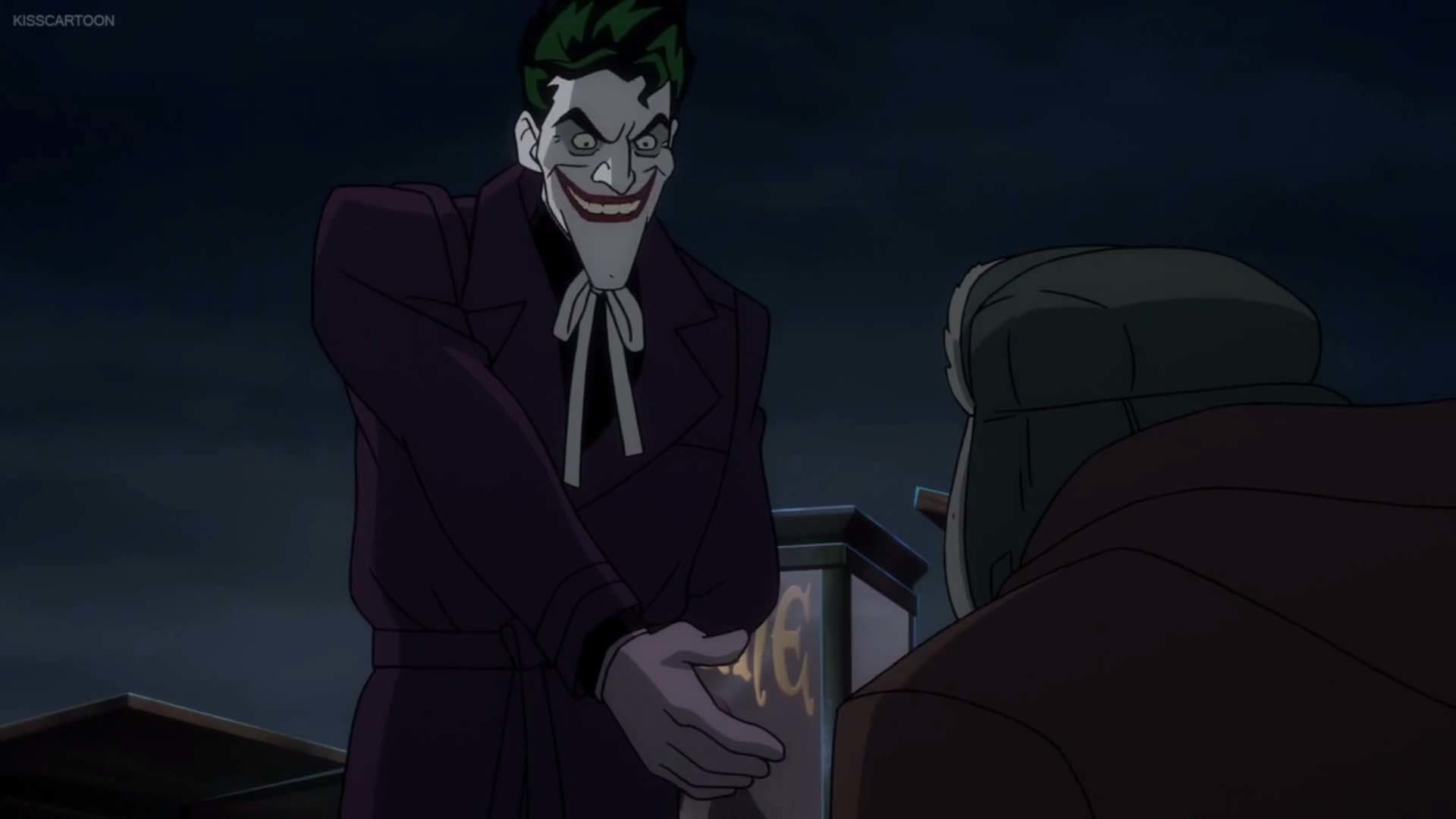1920x1080 It's called Killing Joke and you'd think that Joker and Batman would be  together a lot. At least the trailer would leave you to believe that.