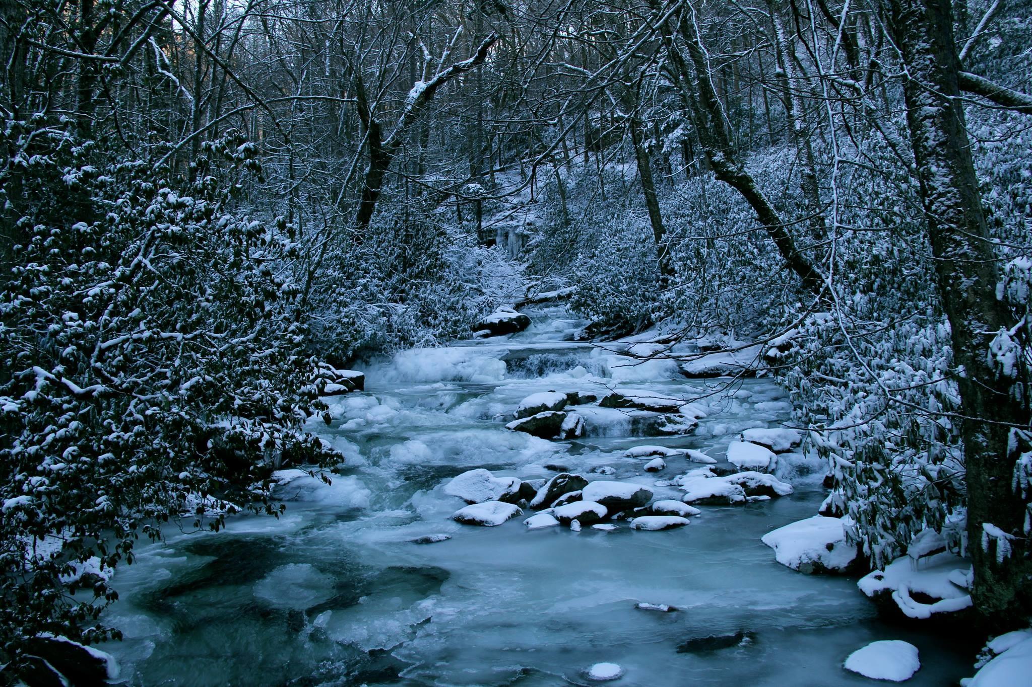 Smoky Mountain Winter Scenes Wallpaper (42+ images)