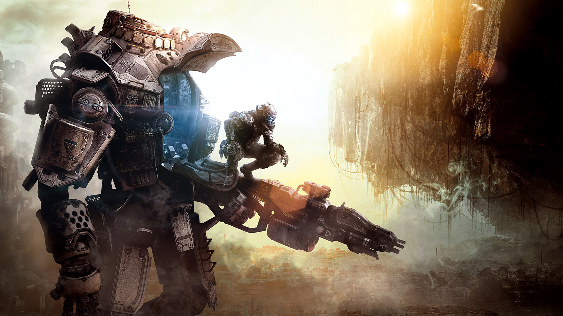 1920x1080 Cool Robot Titanfall Game Wallpapers HD / Desktop and Mobile Backgrounds