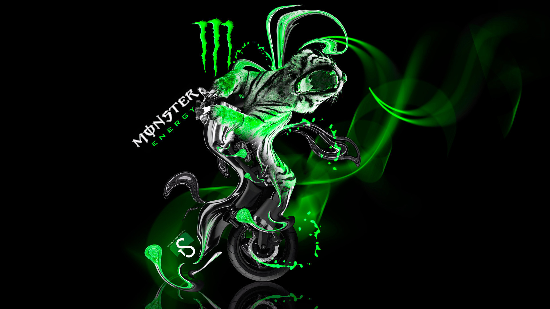 1920x1080 Graffitis De Monster Energy Monster Energy Wallpaper Hd | Pixelstalk .
