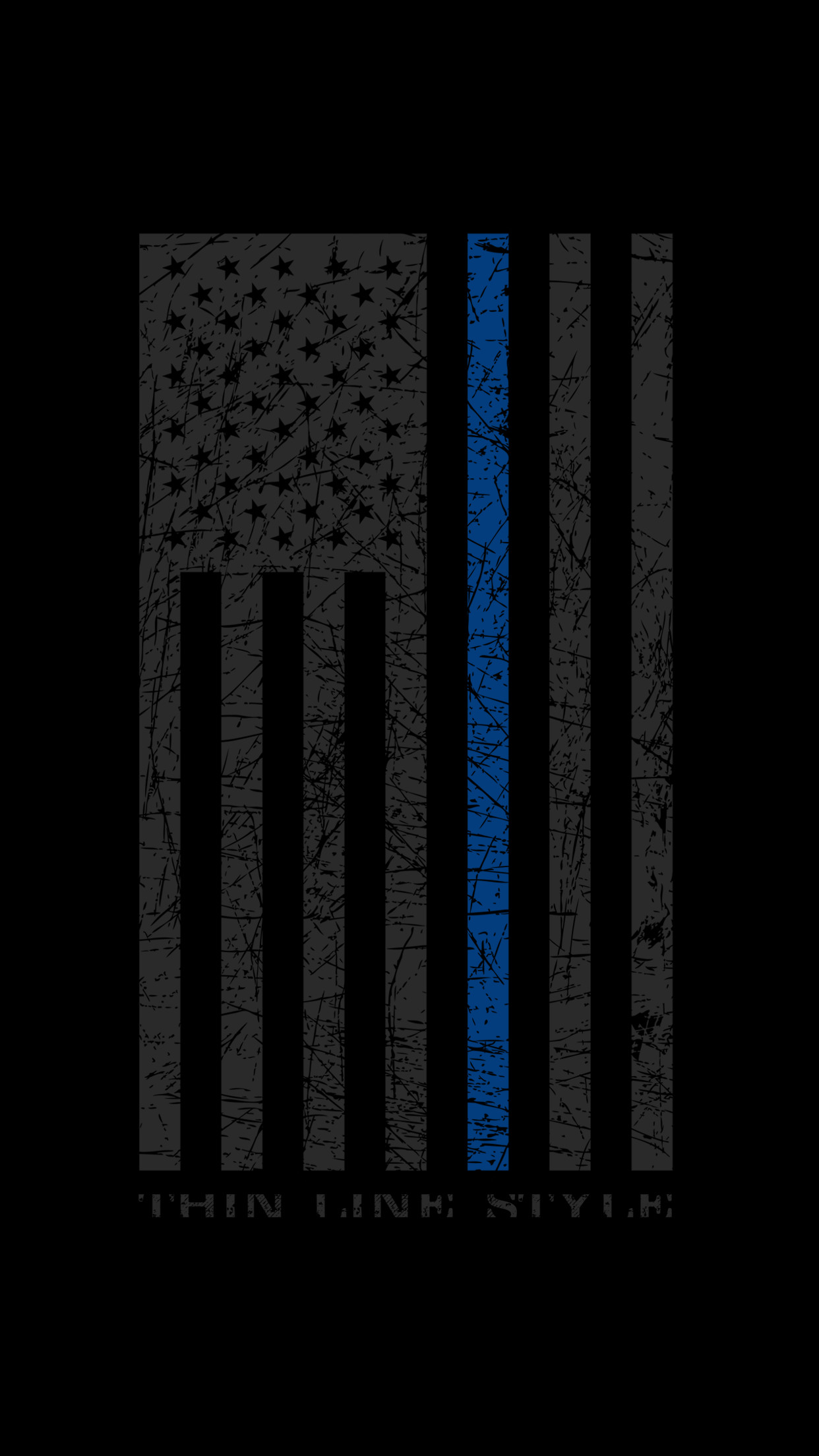Thin Blue Line Wallpaper (67+ images)