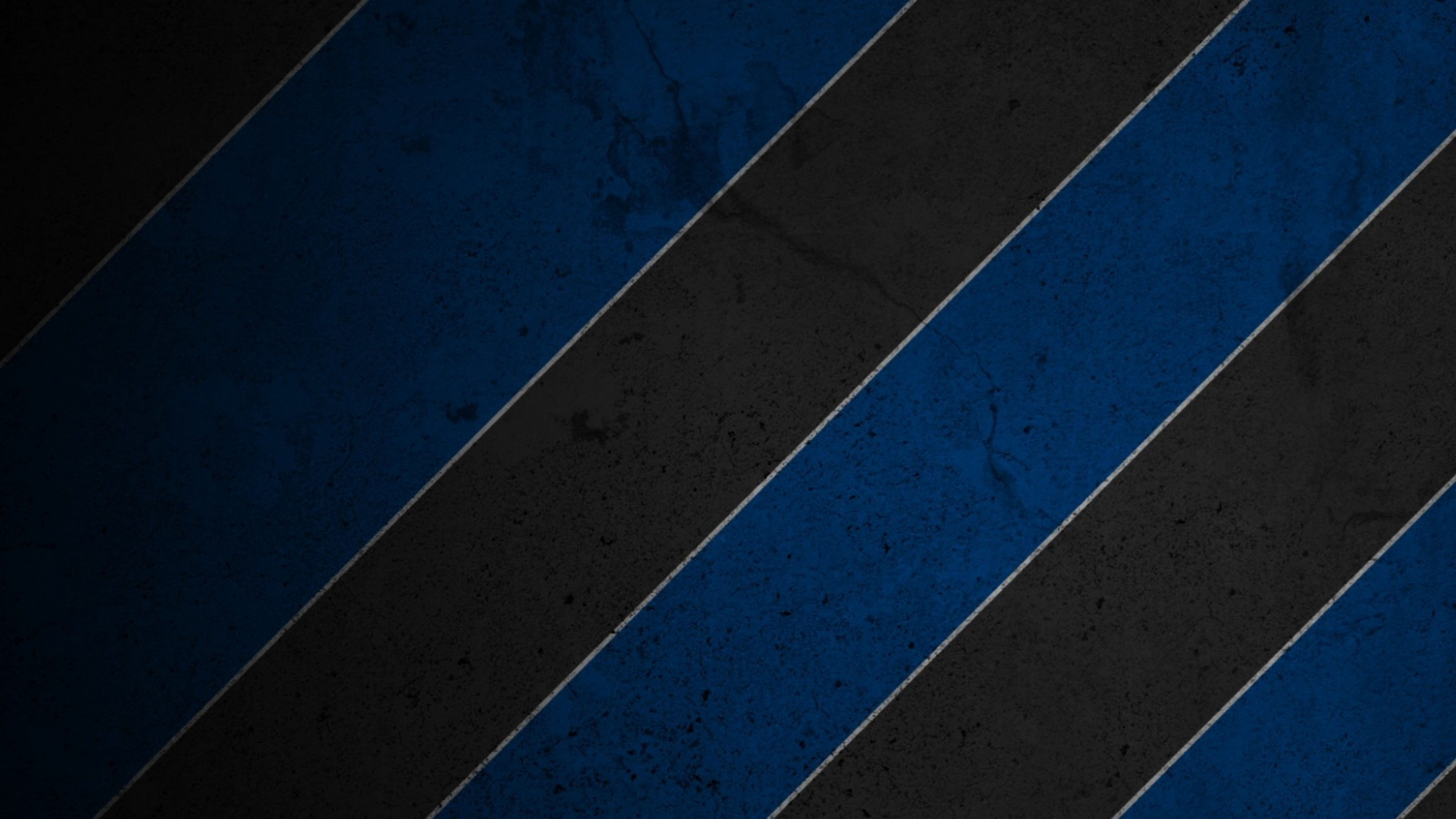 3840x2160  Wallpaper stripes, blue, black, white