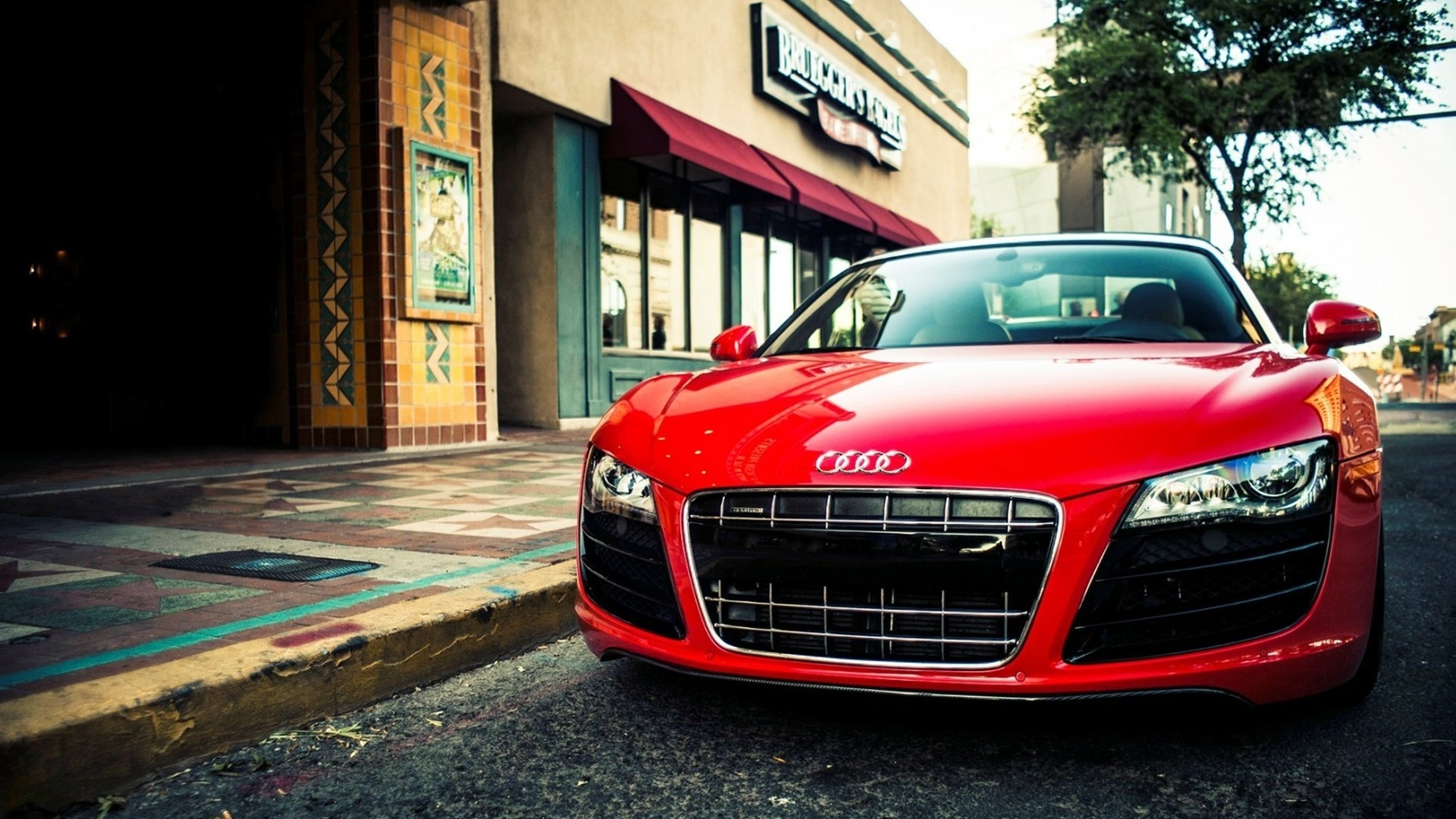 1920x1080 Red Aaudi R8 HD Wallpapers 1080p Super Cars