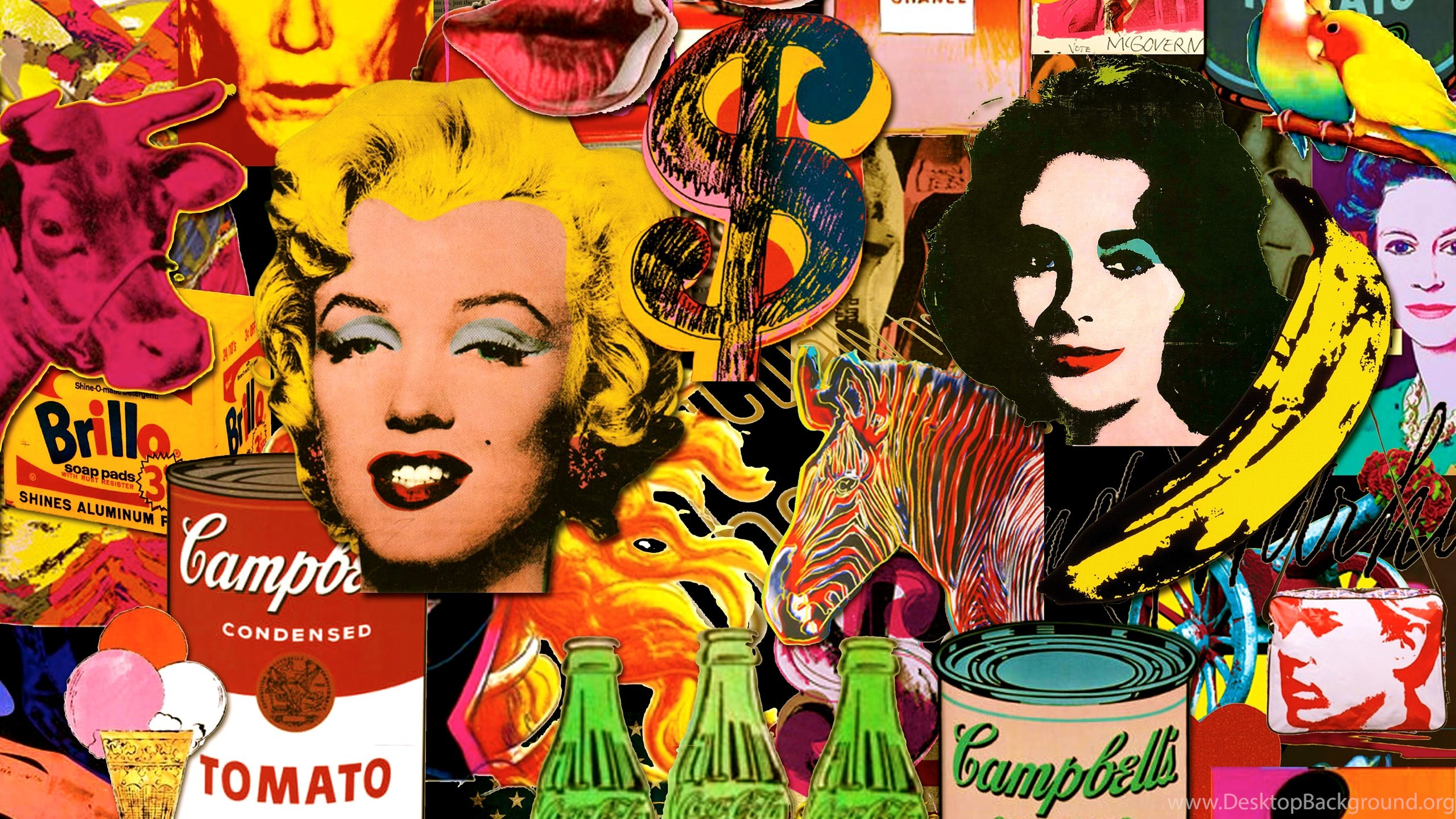 Pop Art Wallpapers 60 Images: Warhol Wallpapers (60+ Images