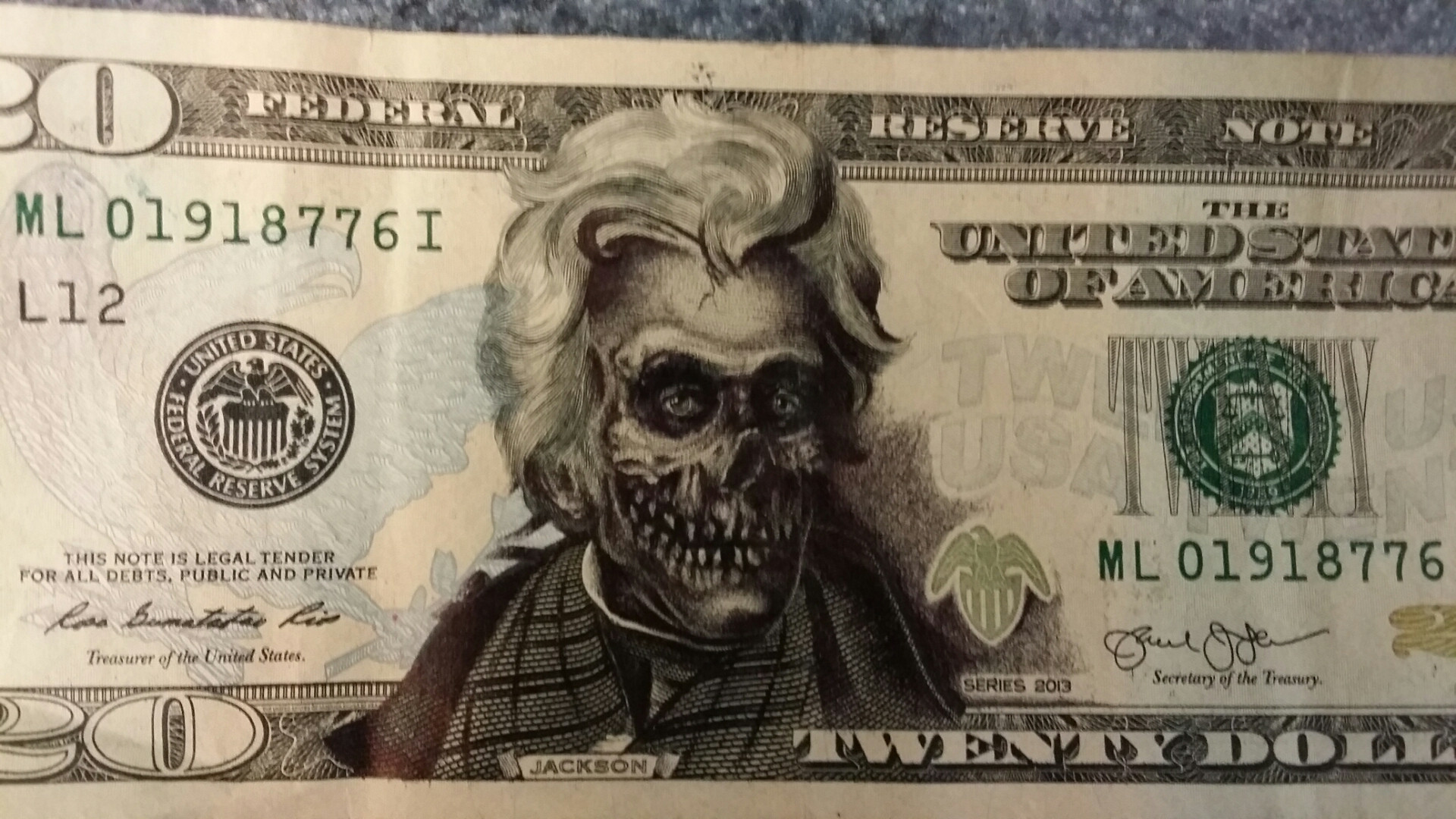 1920x1080 25 - 50 Brilliantly Defaced Dollar Bill Wins