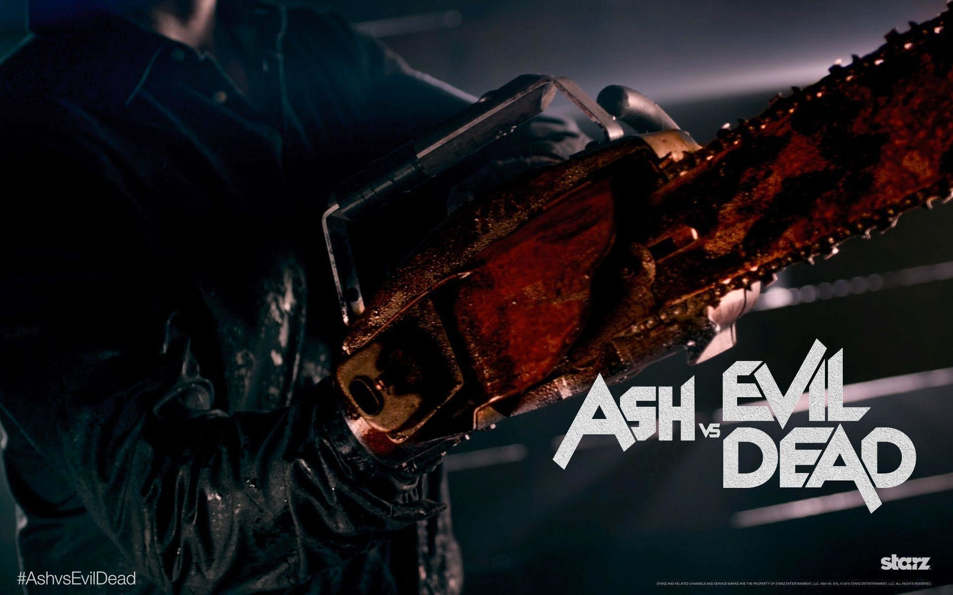 1920x1200 Ash Vs Evil Dead On Home Video This Summer