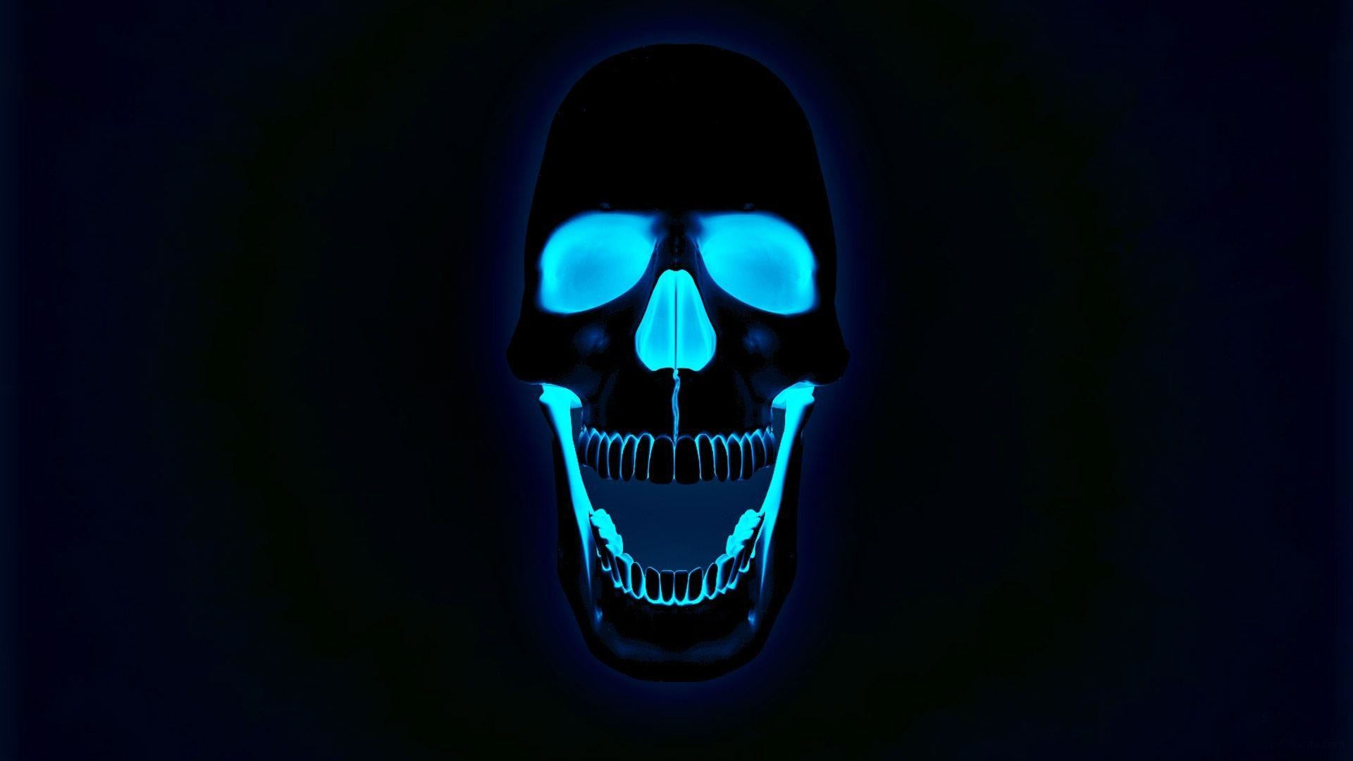 1920x1080 Glowing Neon Skull Photos Free HD Wallpapers Amazing