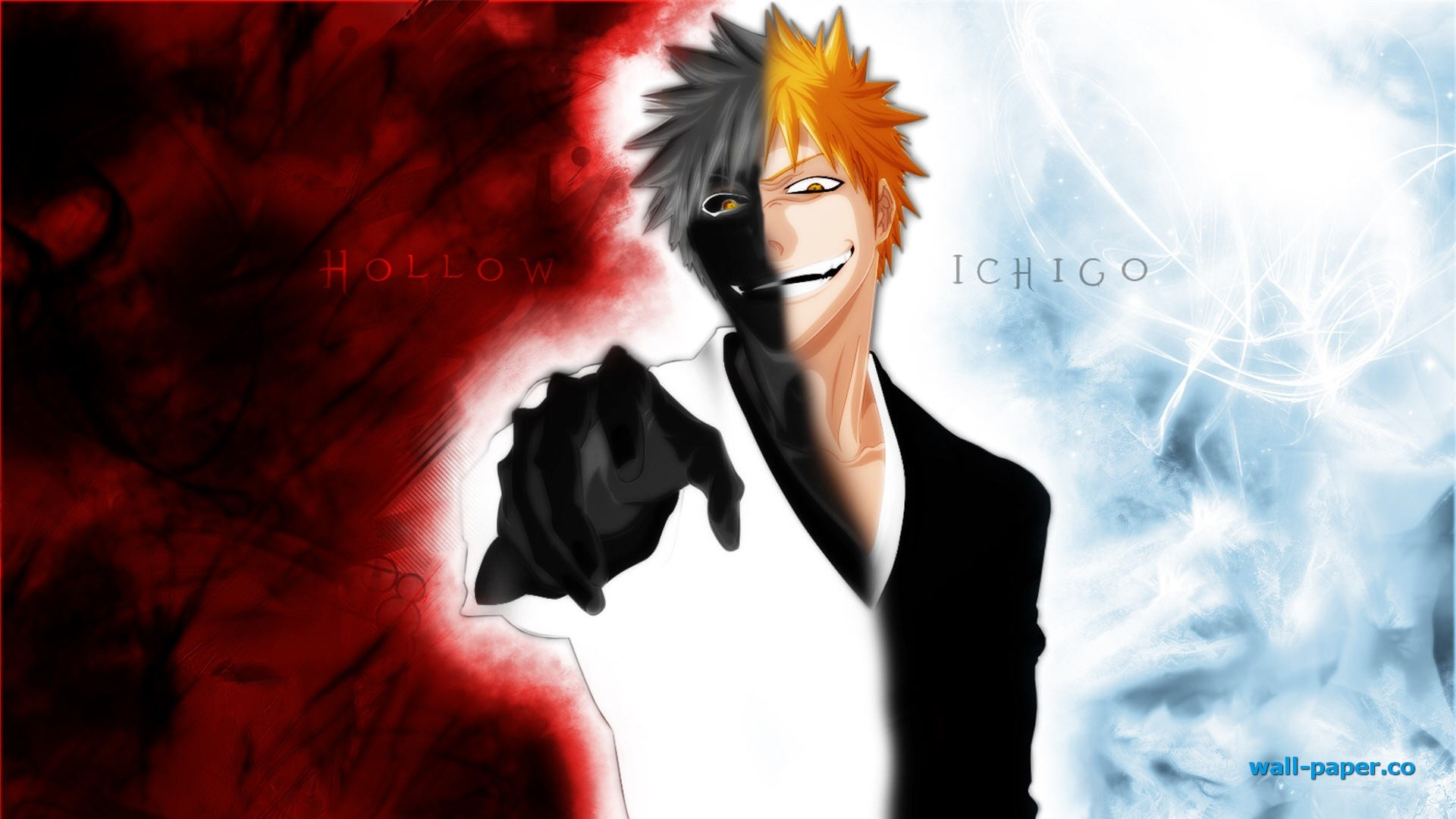 1920x1080 Ichigo Hollow - Bleach wallpaper