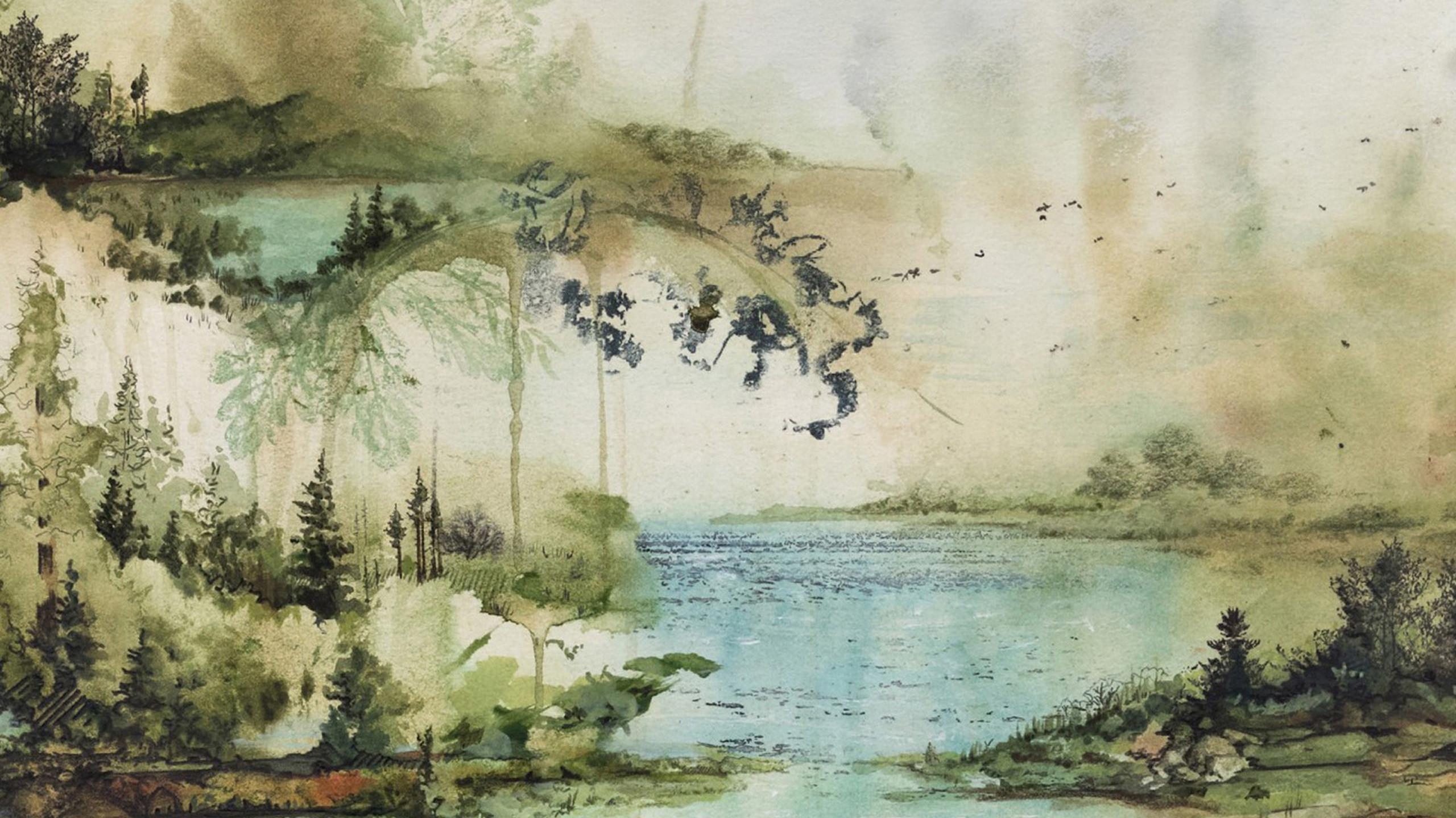 Watercolour Wallpaper 58 Images
