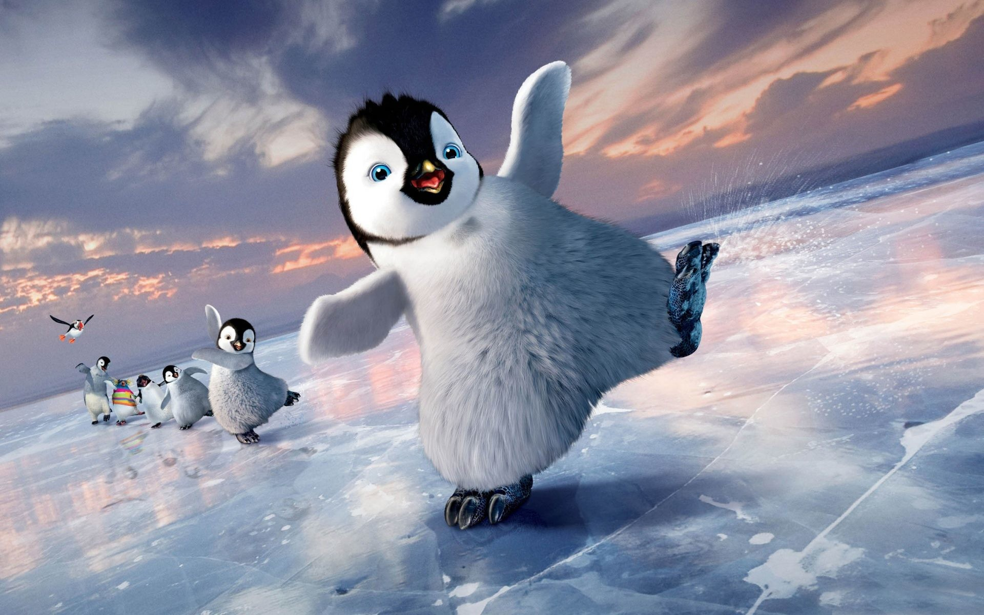 1920x1200 ... cute penguin wallpapers picture dodskypict ...