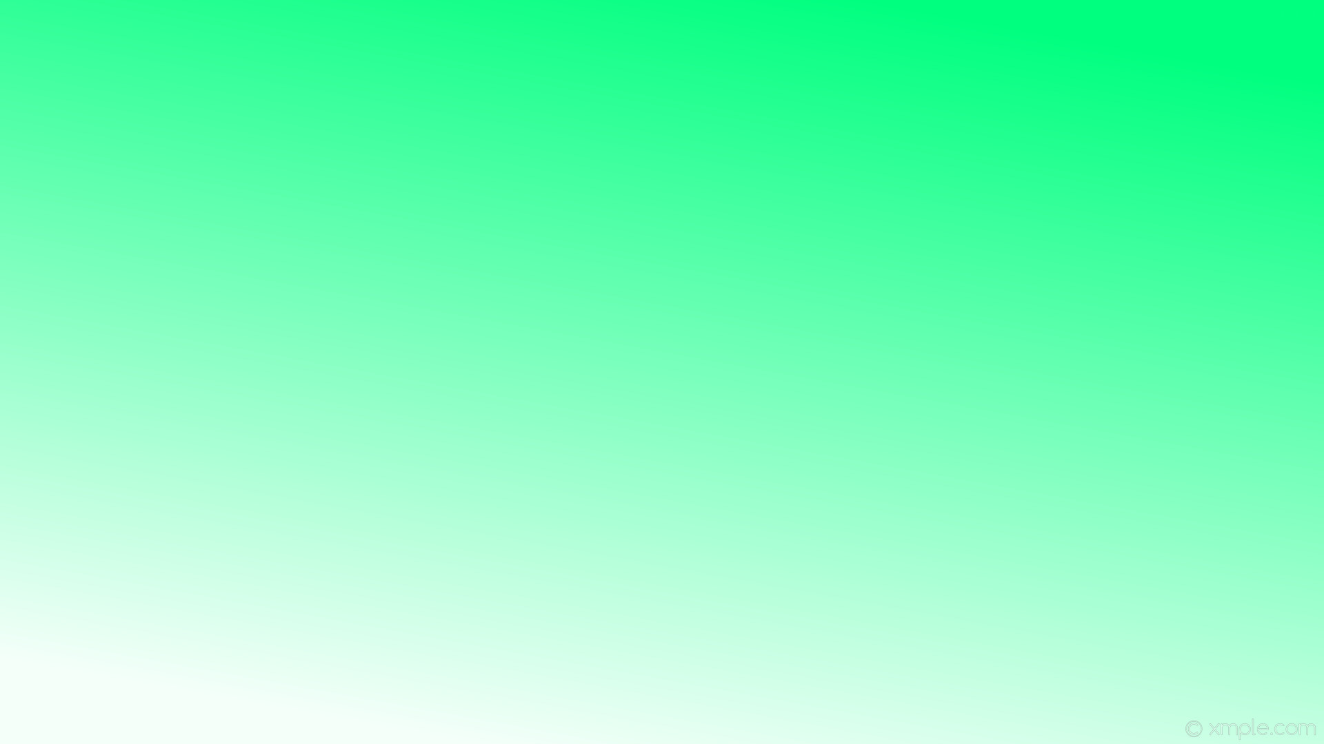 1920x1080 wallpaper green gradient linear white mint cream spring green #f5fffa  #00ff7f 240°