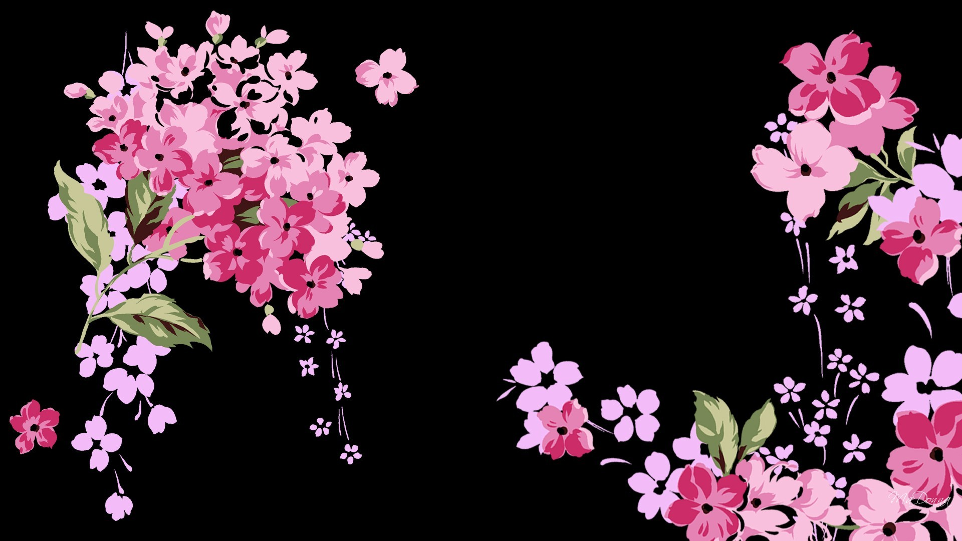 Pink and Black Glitter Wallpaper (55+ images)