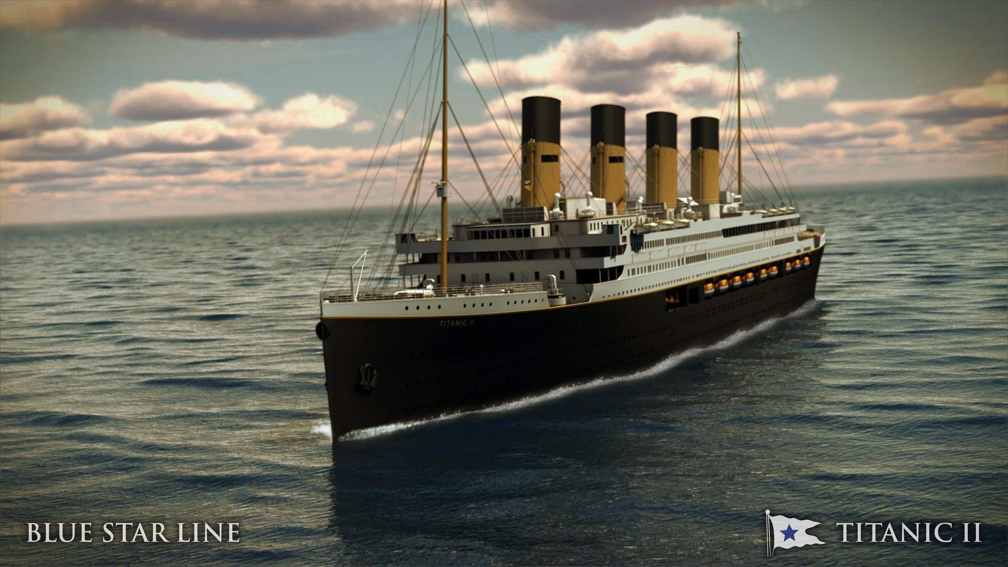 2048x1152 Titanic 2 Ship Construction - Music and Movie Wallpapers (15147 .