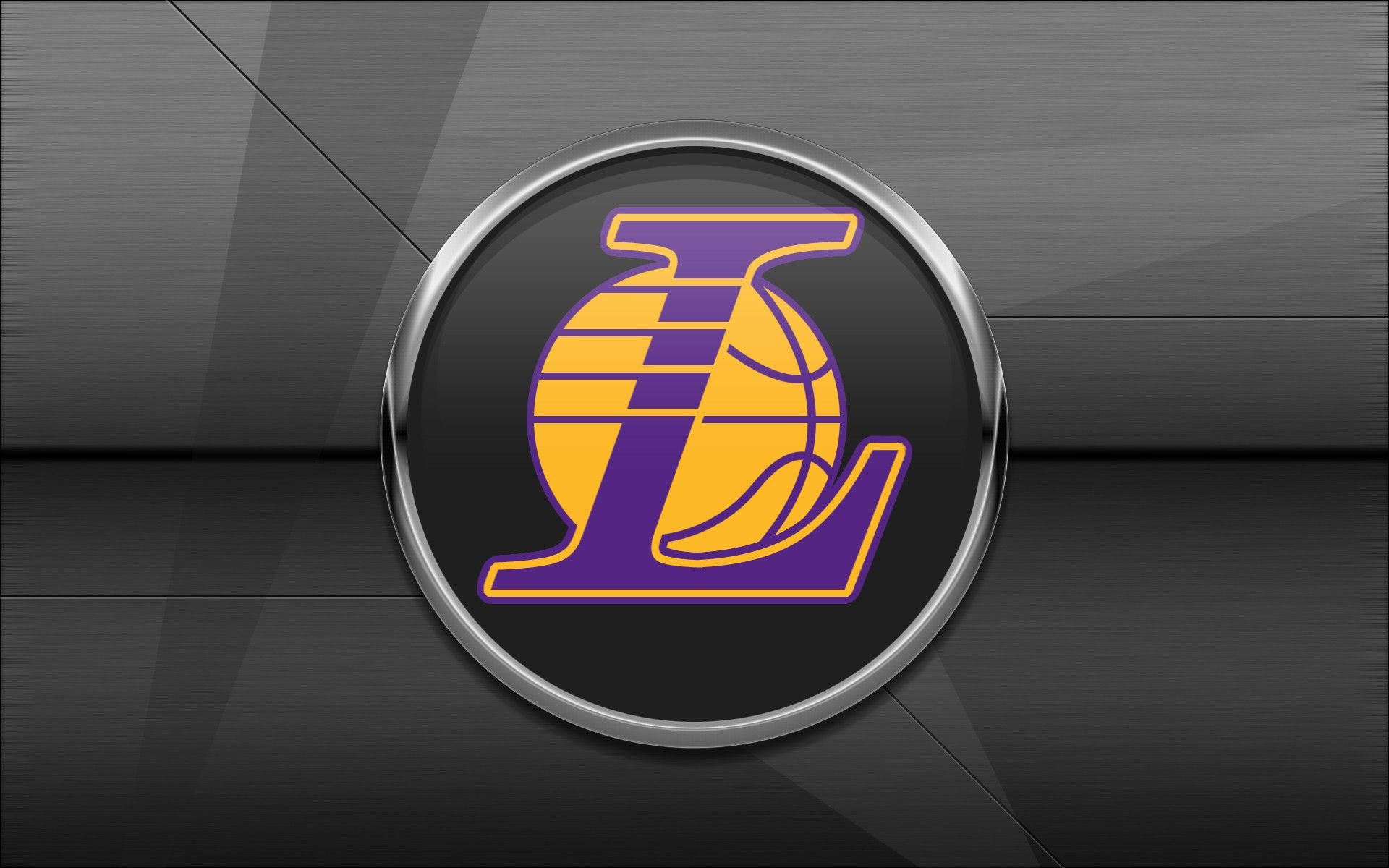 1920x1080 los angeles lakers 2017 nba basketball hardwood logo wallpaper free pc desktop computer hd ... Download