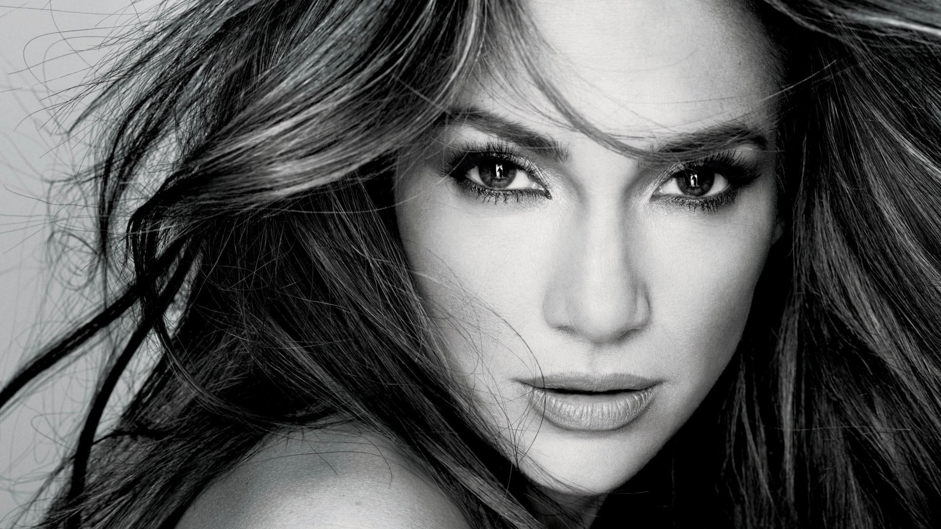 1920x1080 jlo black and white photoshoot - Google Search