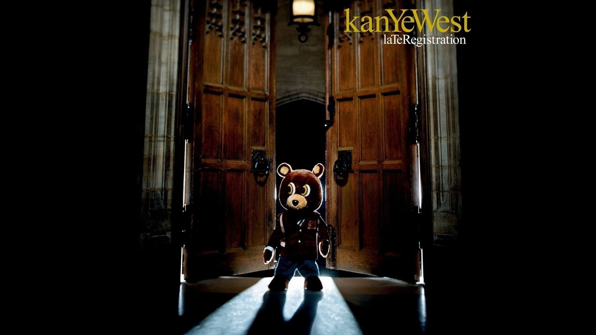 1920x1080 Kanye West Late Registration Album Cover