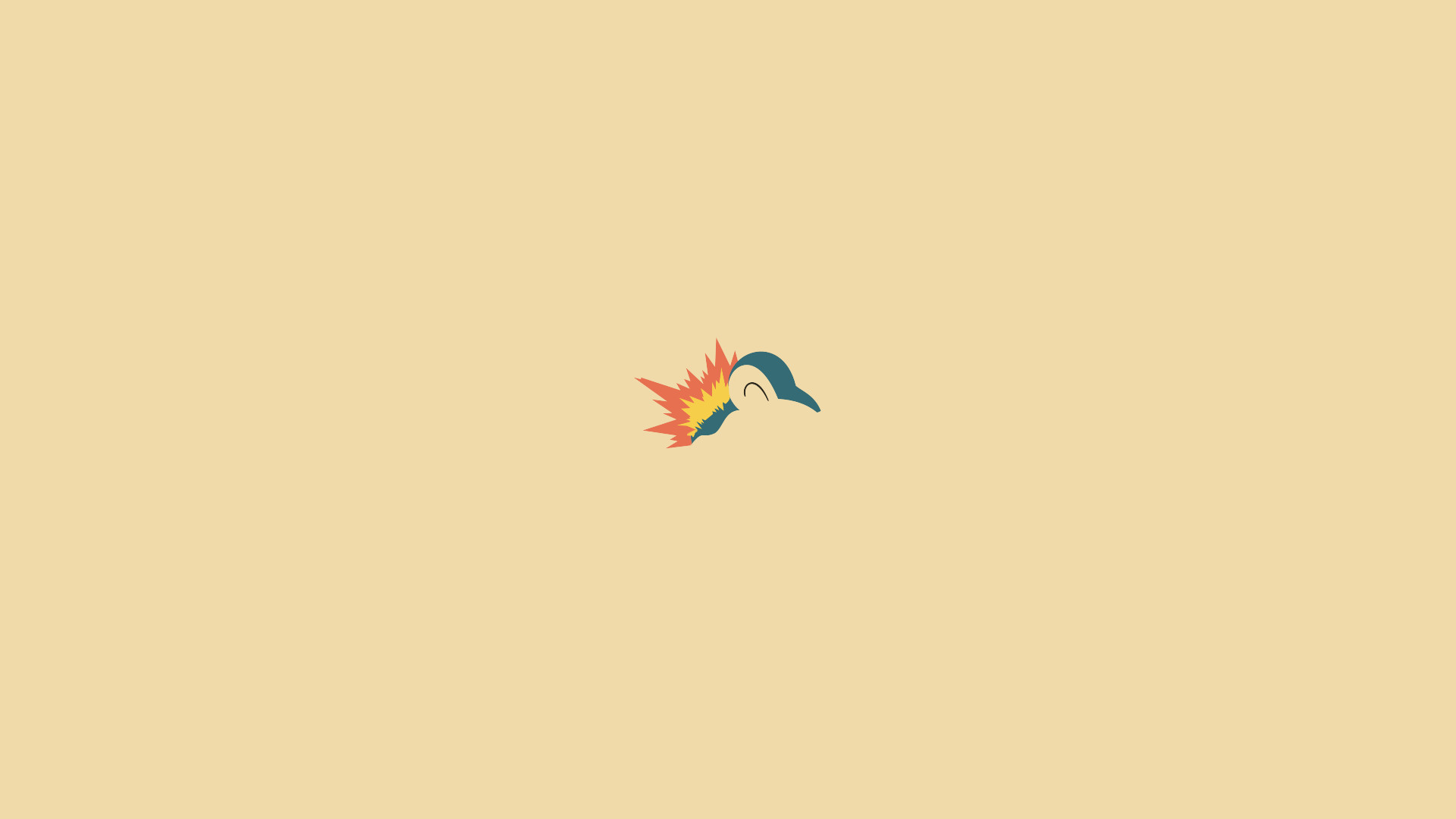 1920x1080 Cyndaquil HD Wallpaper Source · Minimalist Cyndaquil by Muzikere on  DeviantArt