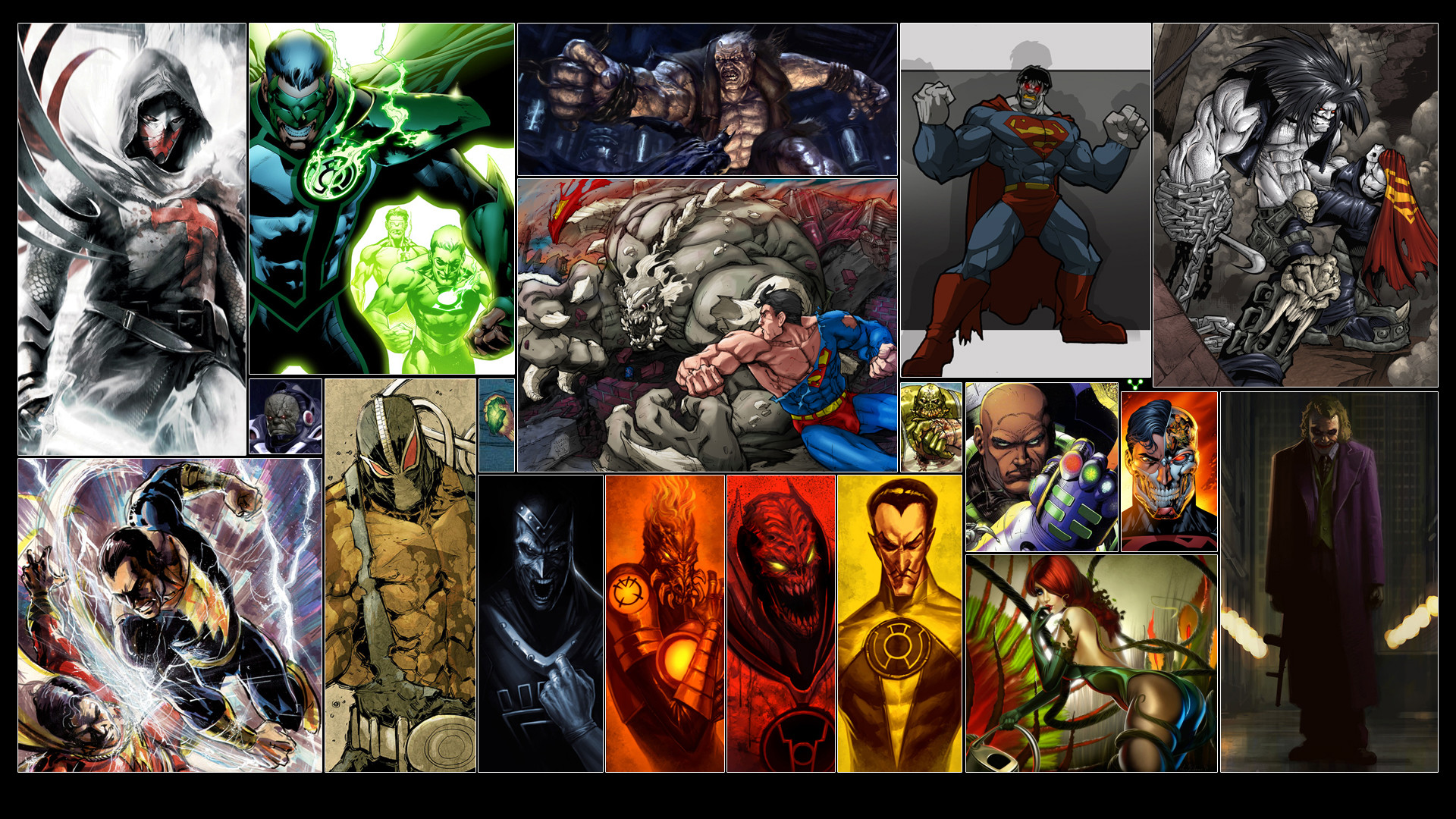 1920x1080 DC Comics Super Villains
